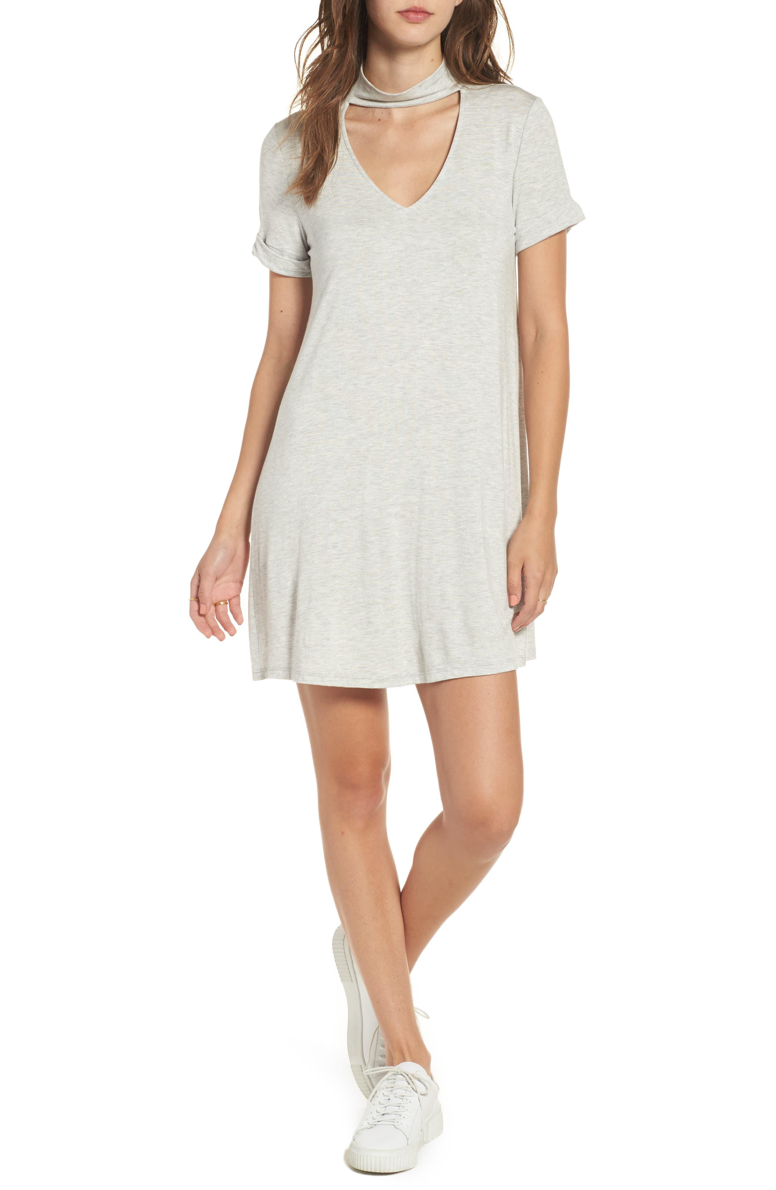 Everly Choker T-Shirt Dress