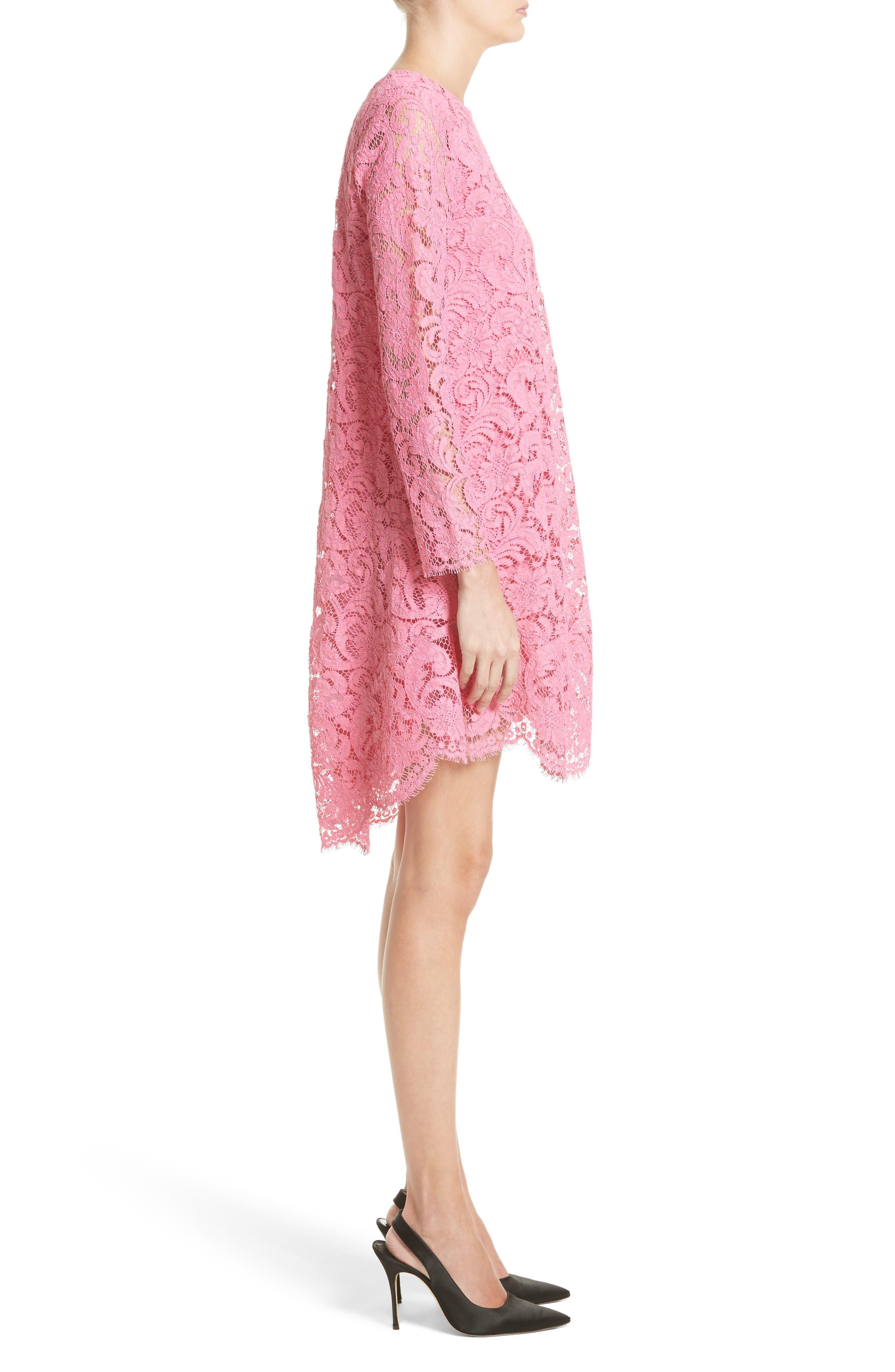 Alternate Image 3  - Adam Lippes Corded Lace Trapeze Dress