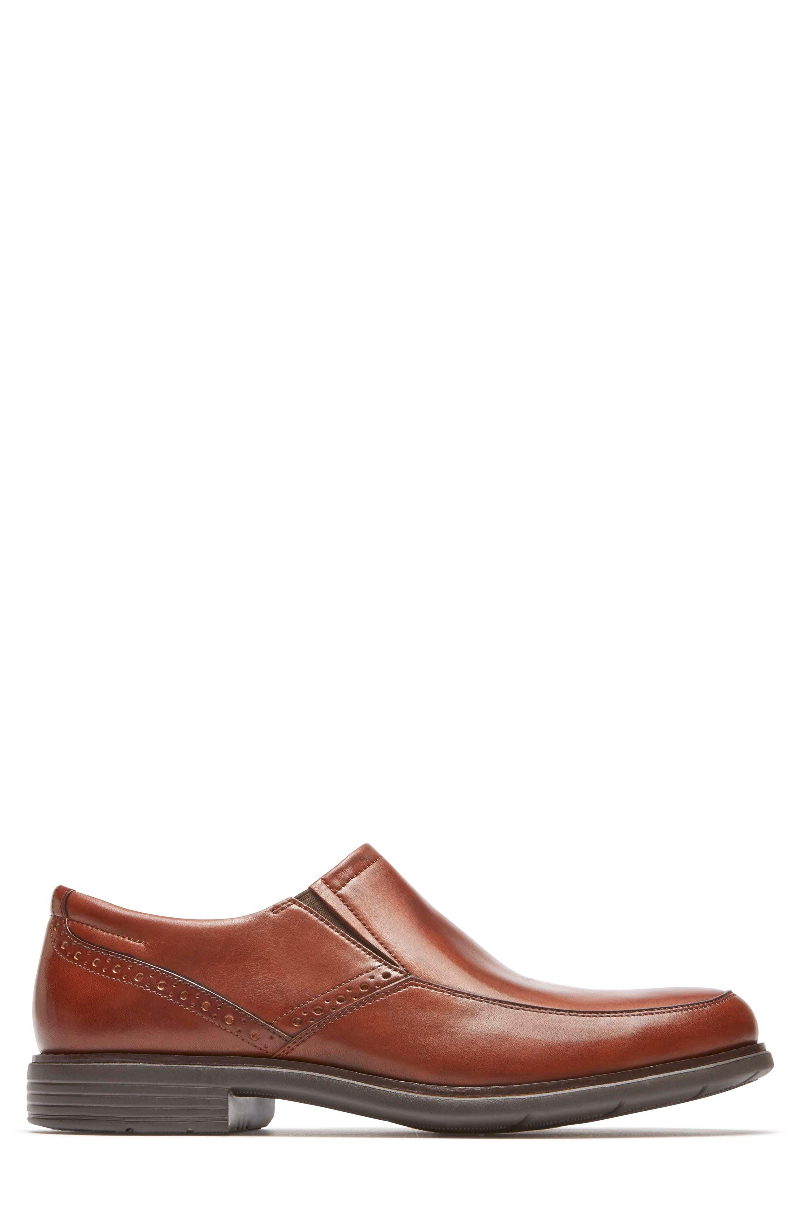 Total Motion Classic Dress Venetian Loafer,                             Alternate thumbnail 3, color,                             Tan Leather