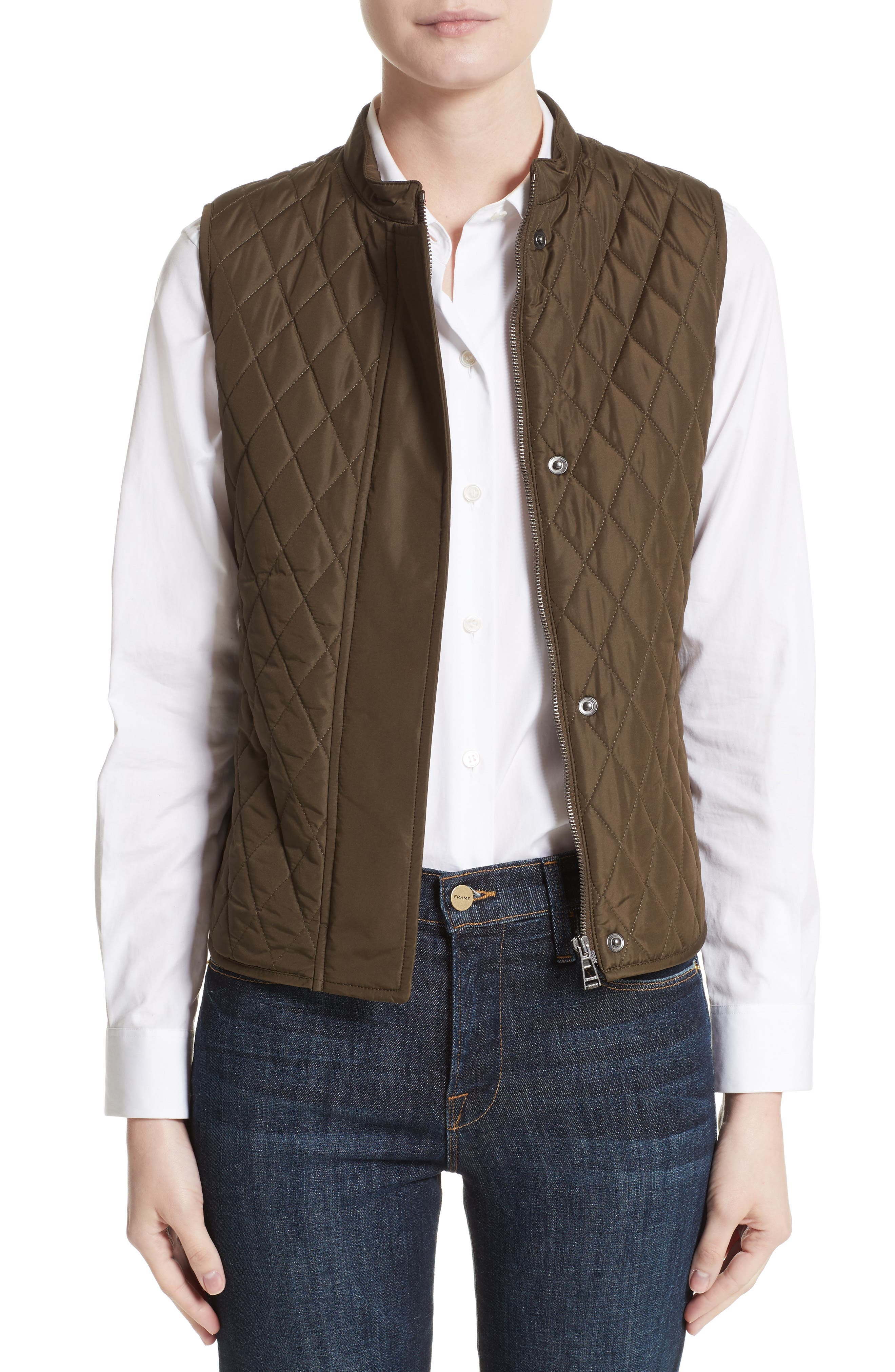 Alternate Image 1 Selected - Belstaff Westwell Technical Quilted Vest