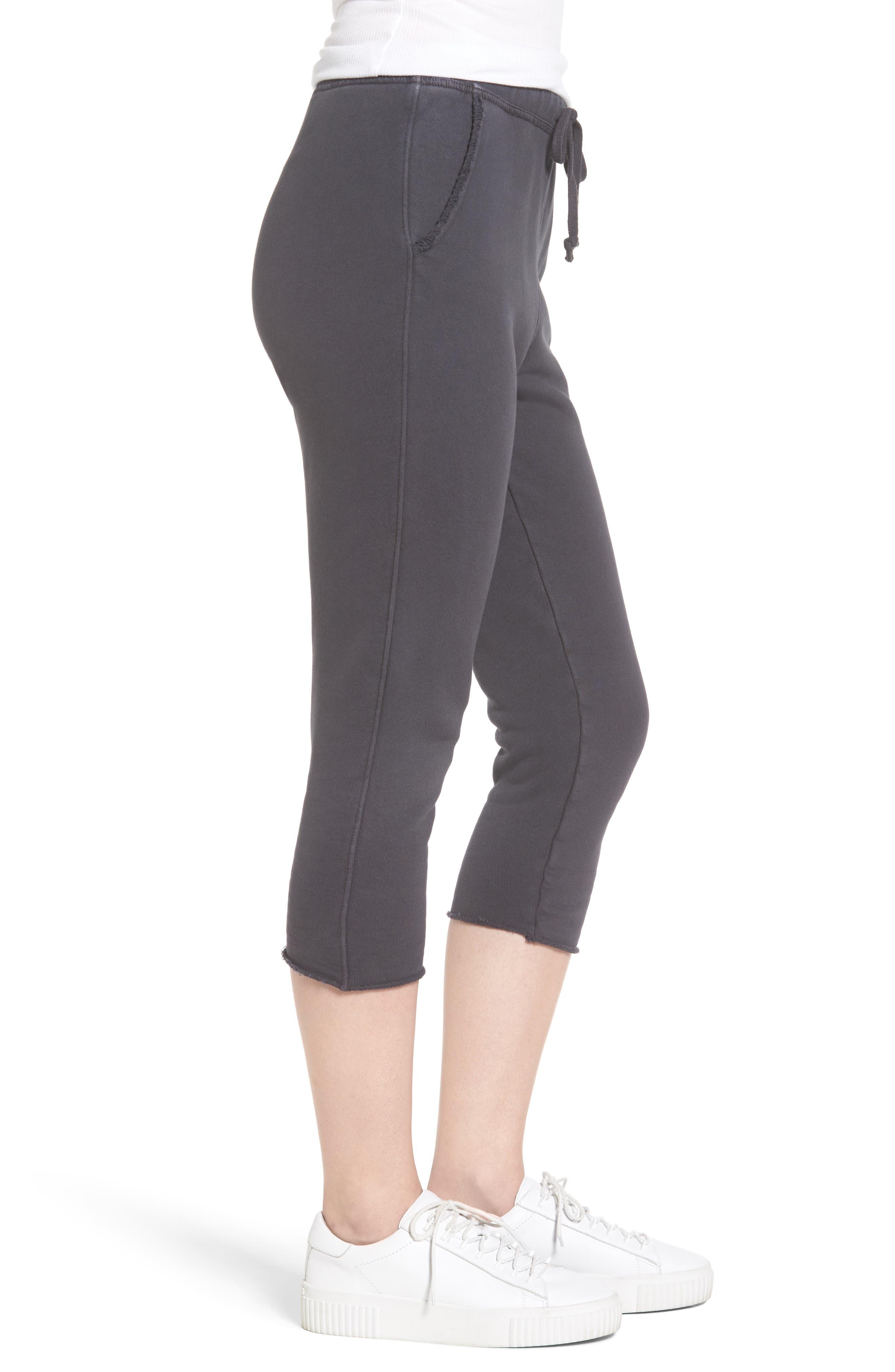 Alternate Image 3  - Frank & Eileen Tee Lab Raw Hem Crop Sweatpants
