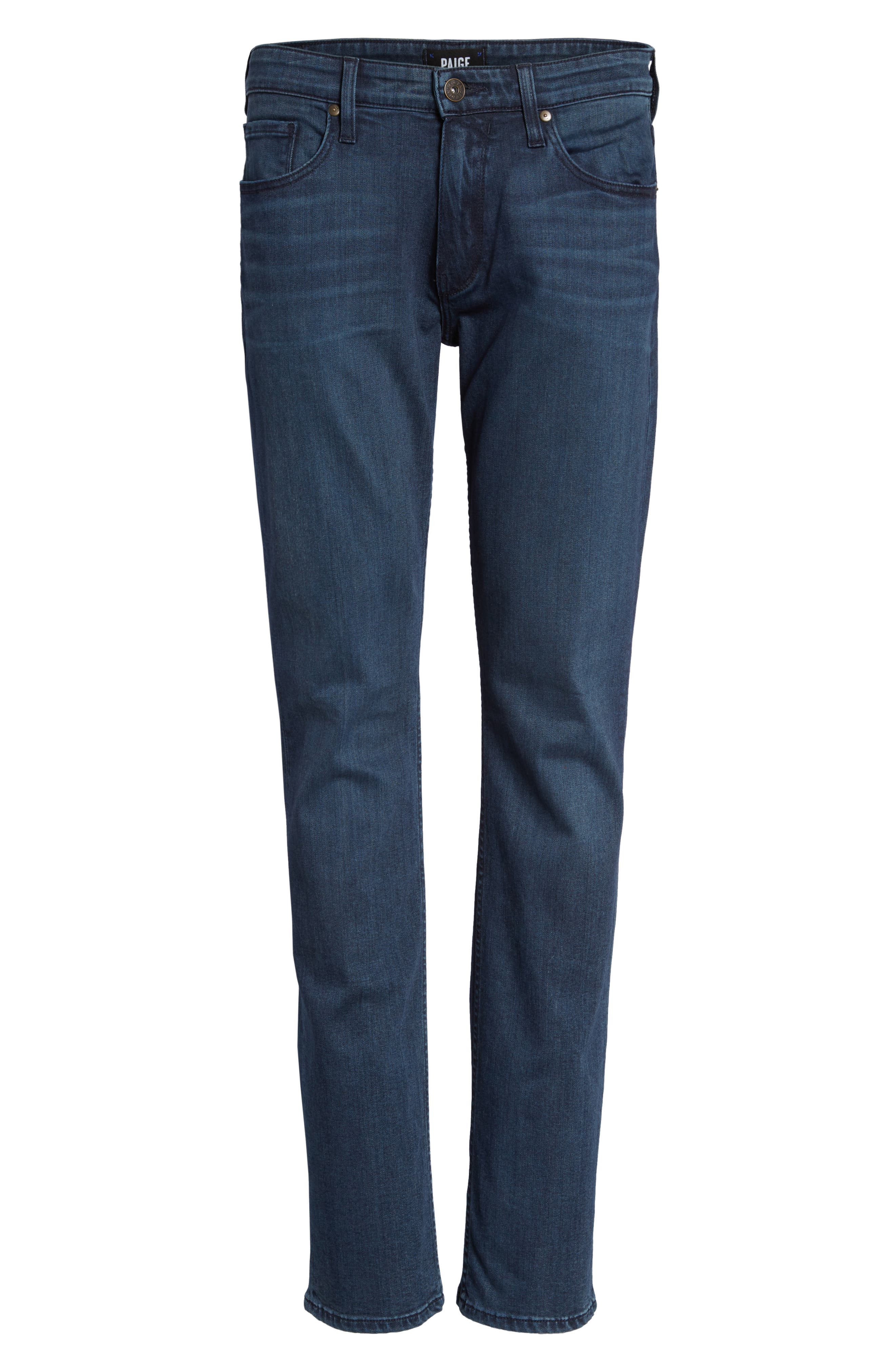 Transcend - Federal Slim Straight Fit Jeans,                             Alternate thumbnail 6, color,                             Elroy