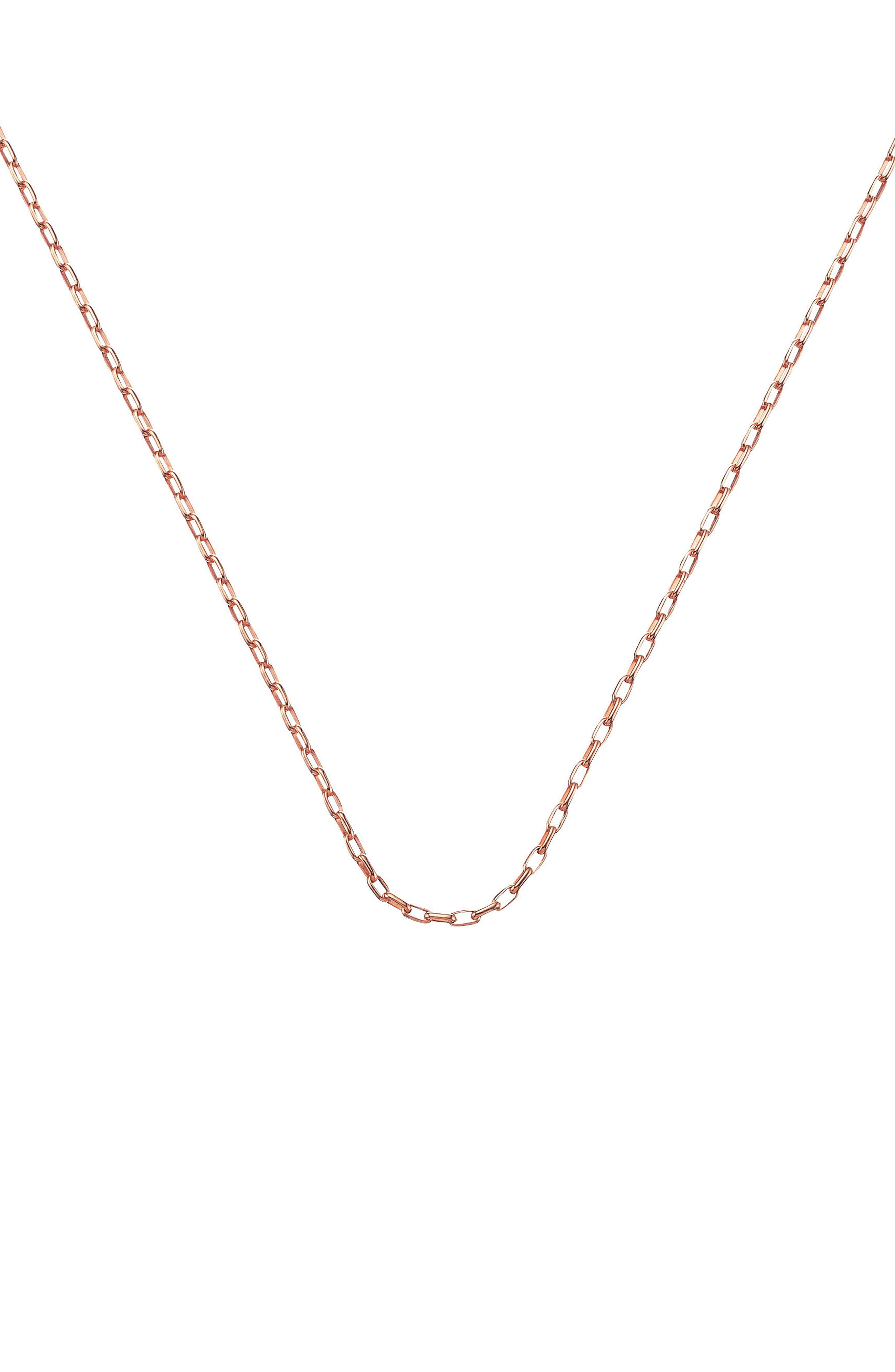 Open Link Chain,                         Main,                         color, Rose Gold