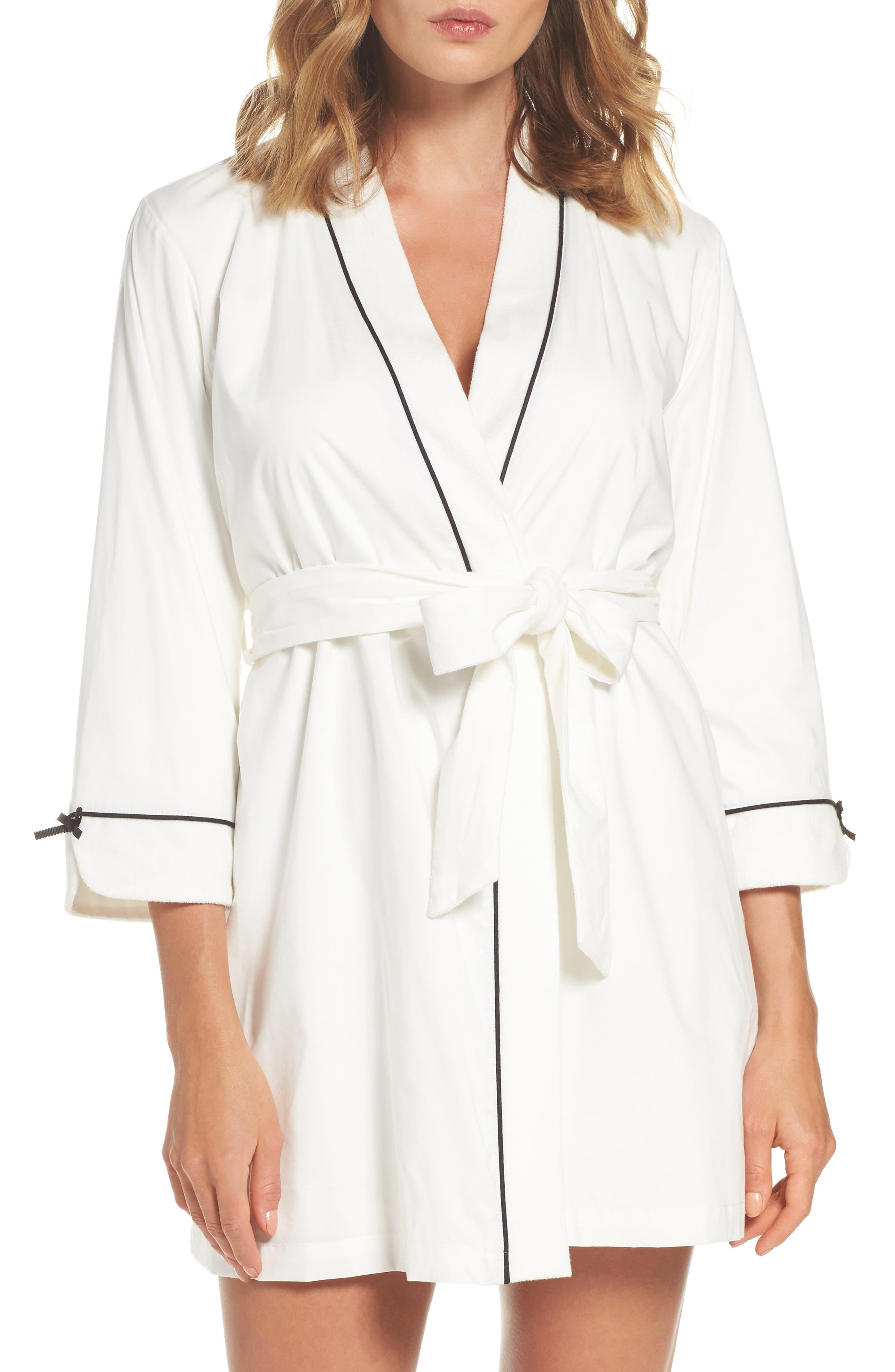 Alternate Image 1 Selected - kate spade new york short robe