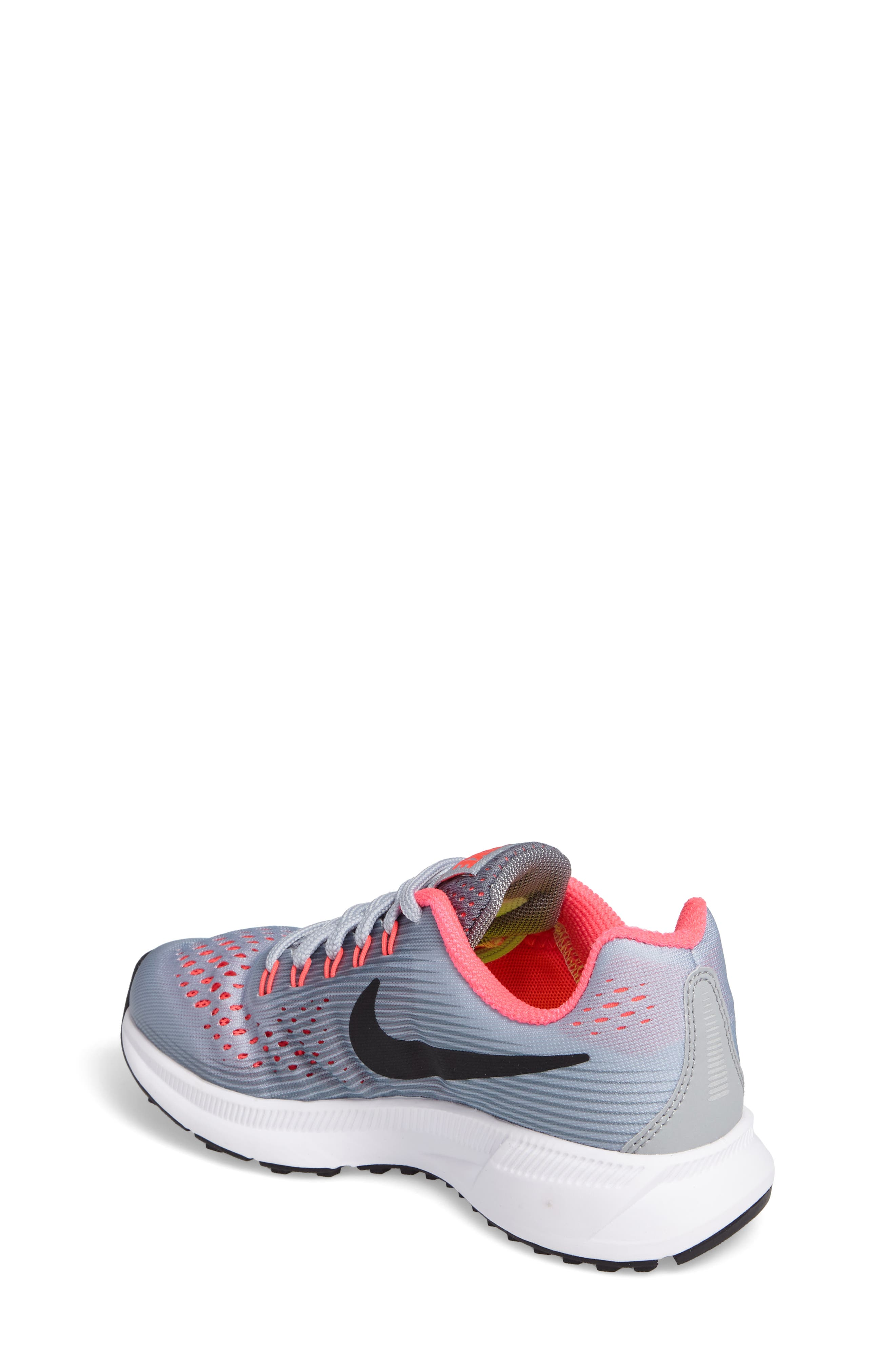 Alternate Image 2  - Nike Zoom Pegasus 34 Sneaker (Little Kid & Big Kid)