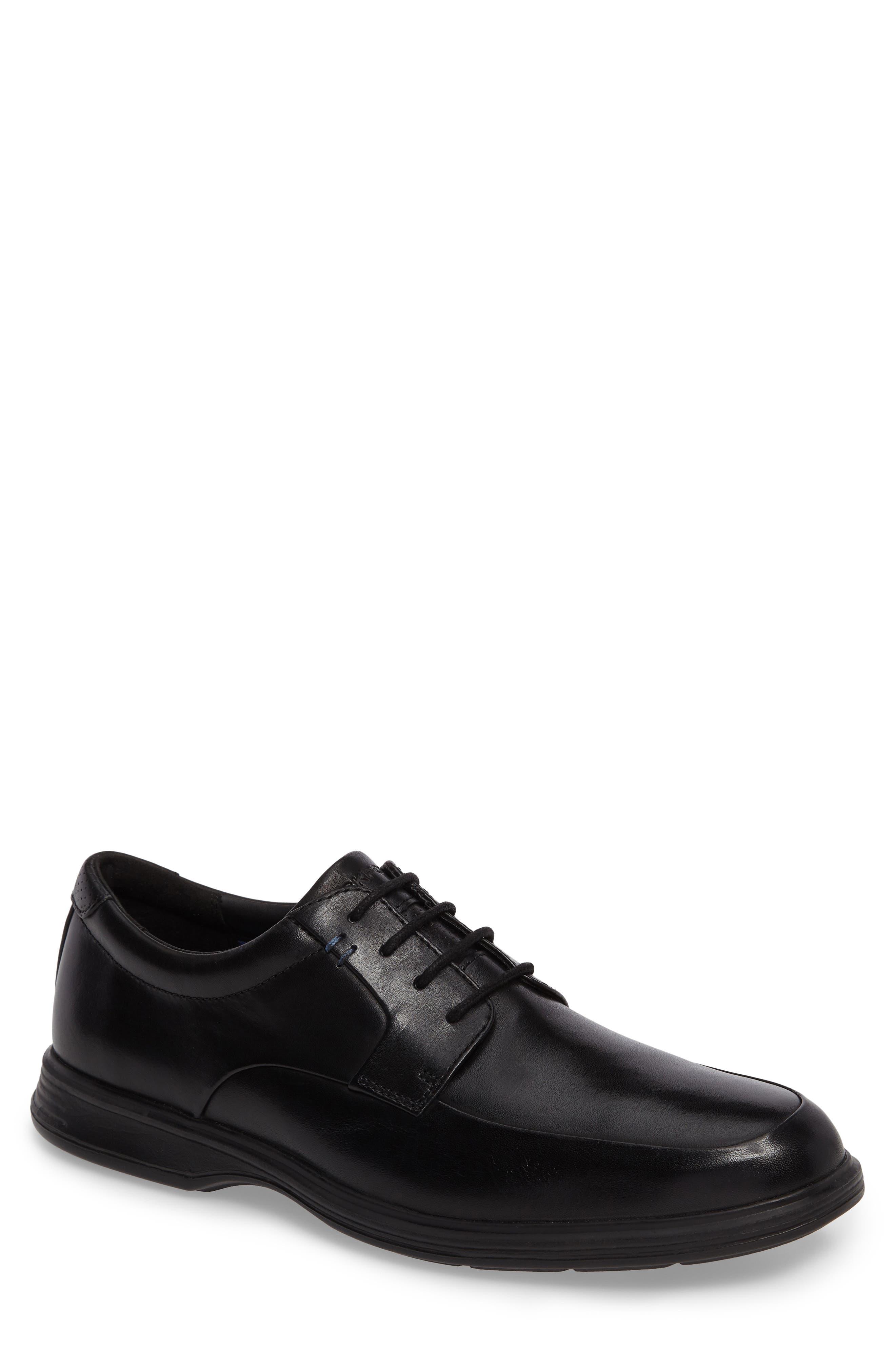 DresSports 2 Lite Apron Toe Derby,                             Main thumbnail 1, color,                             Black Leather
