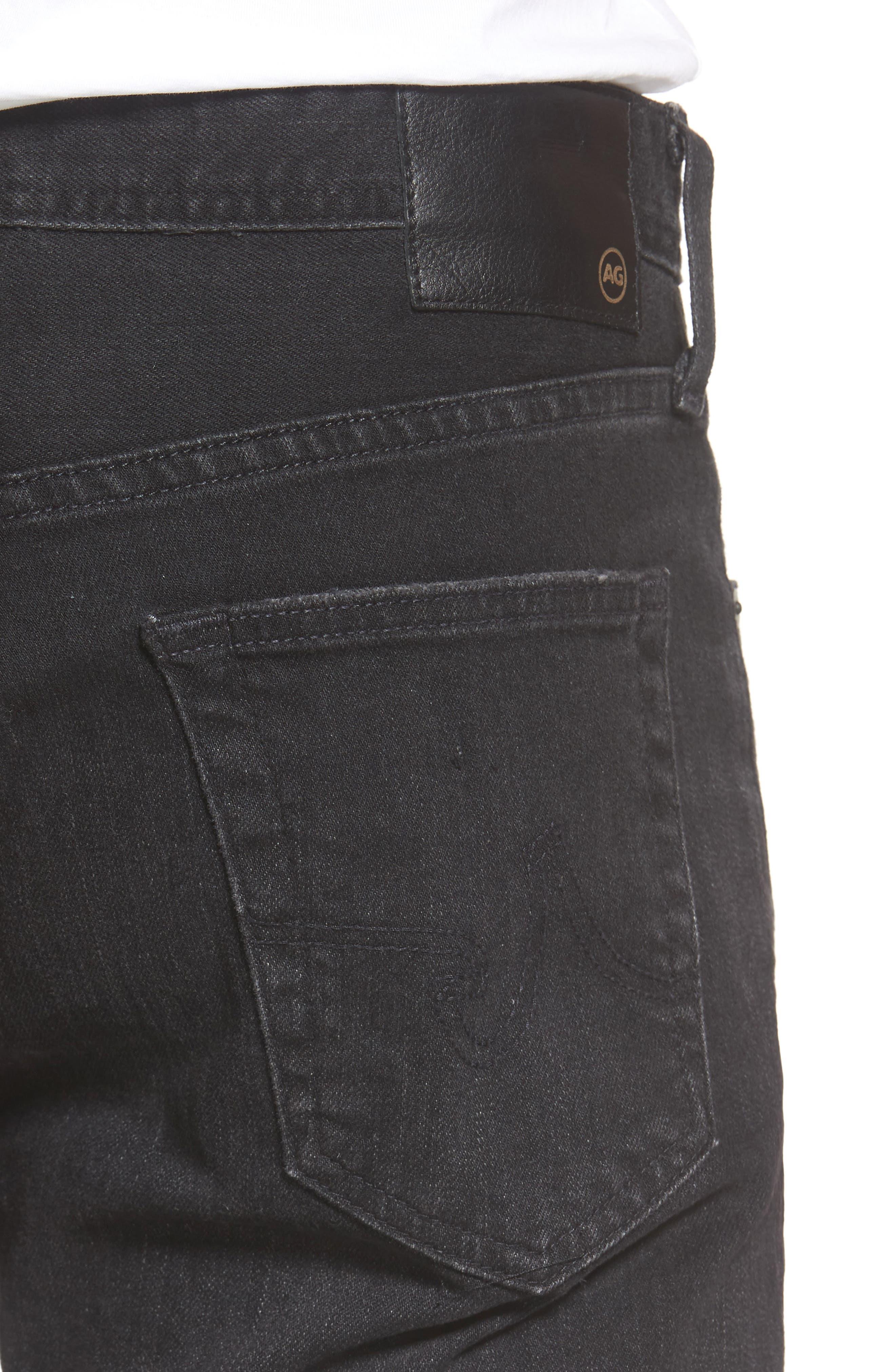 Everett Slim Straight Leg Jeans,                             Alternate thumbnail 5, color,                             4 Years Down