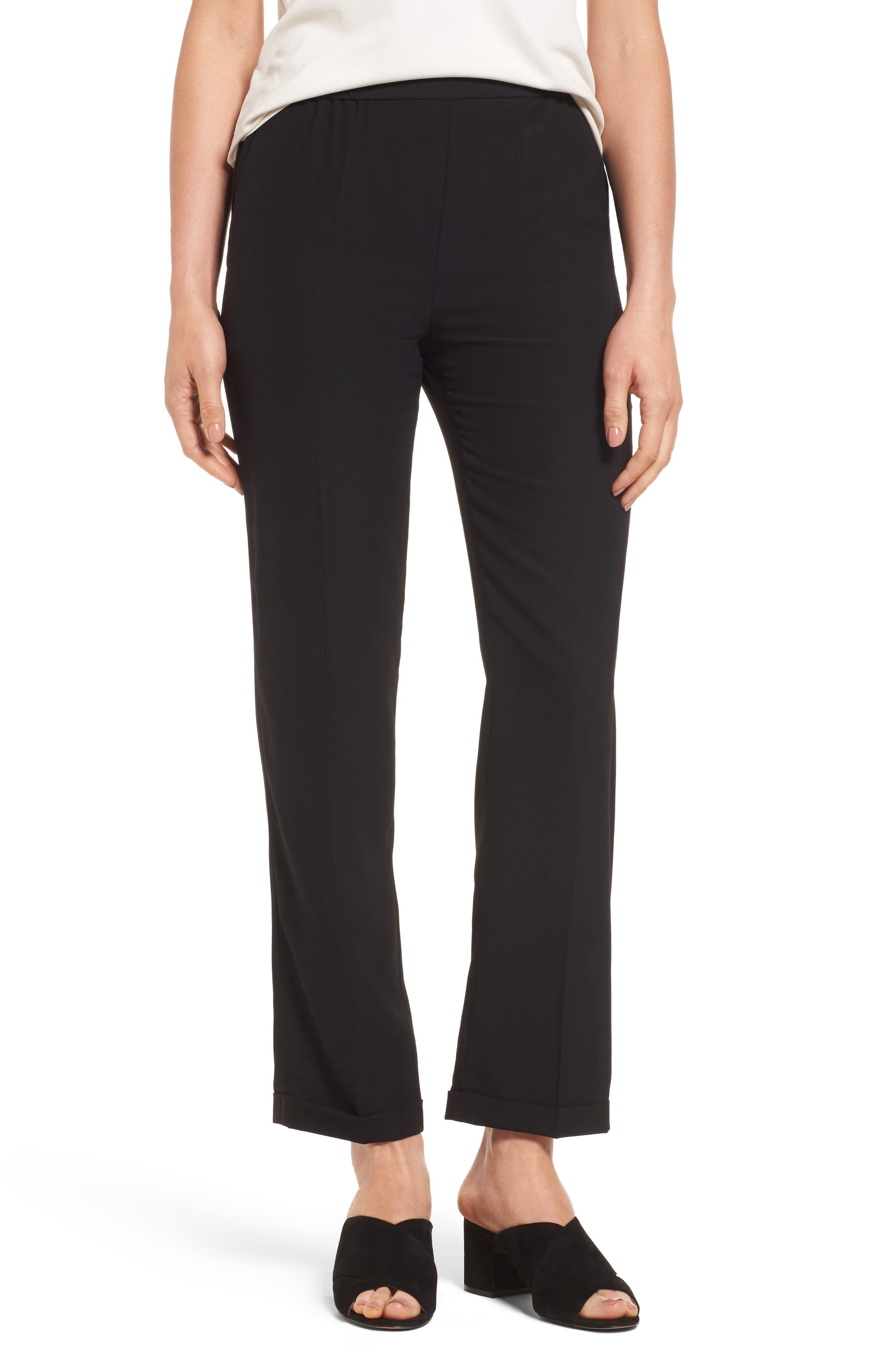 Soft Swing Pants,                         Main,                         color, Black Onyx