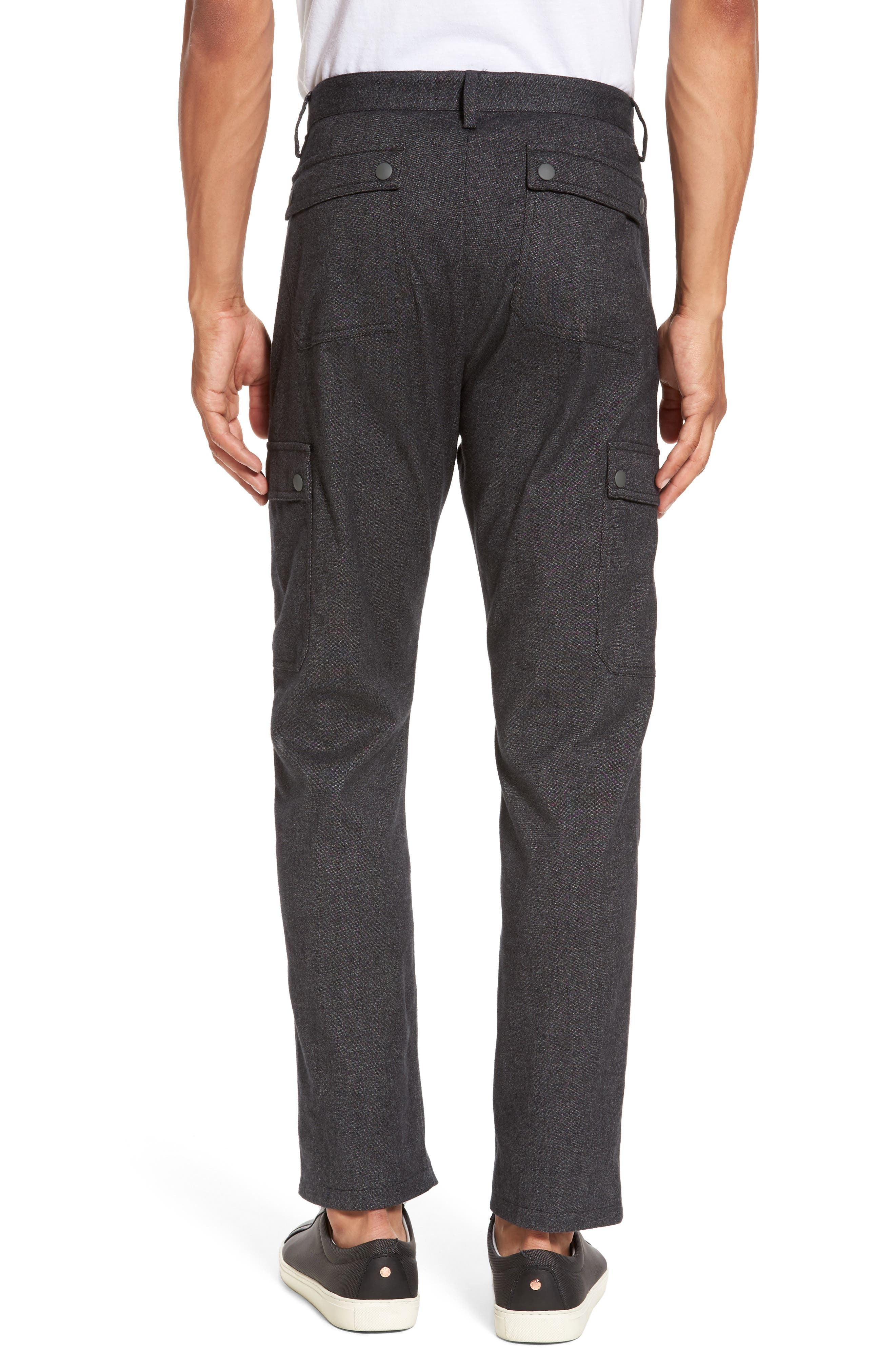 Rainer Cargo Pants,                             Alternate thumbnail 2, color,                             Dark Grey