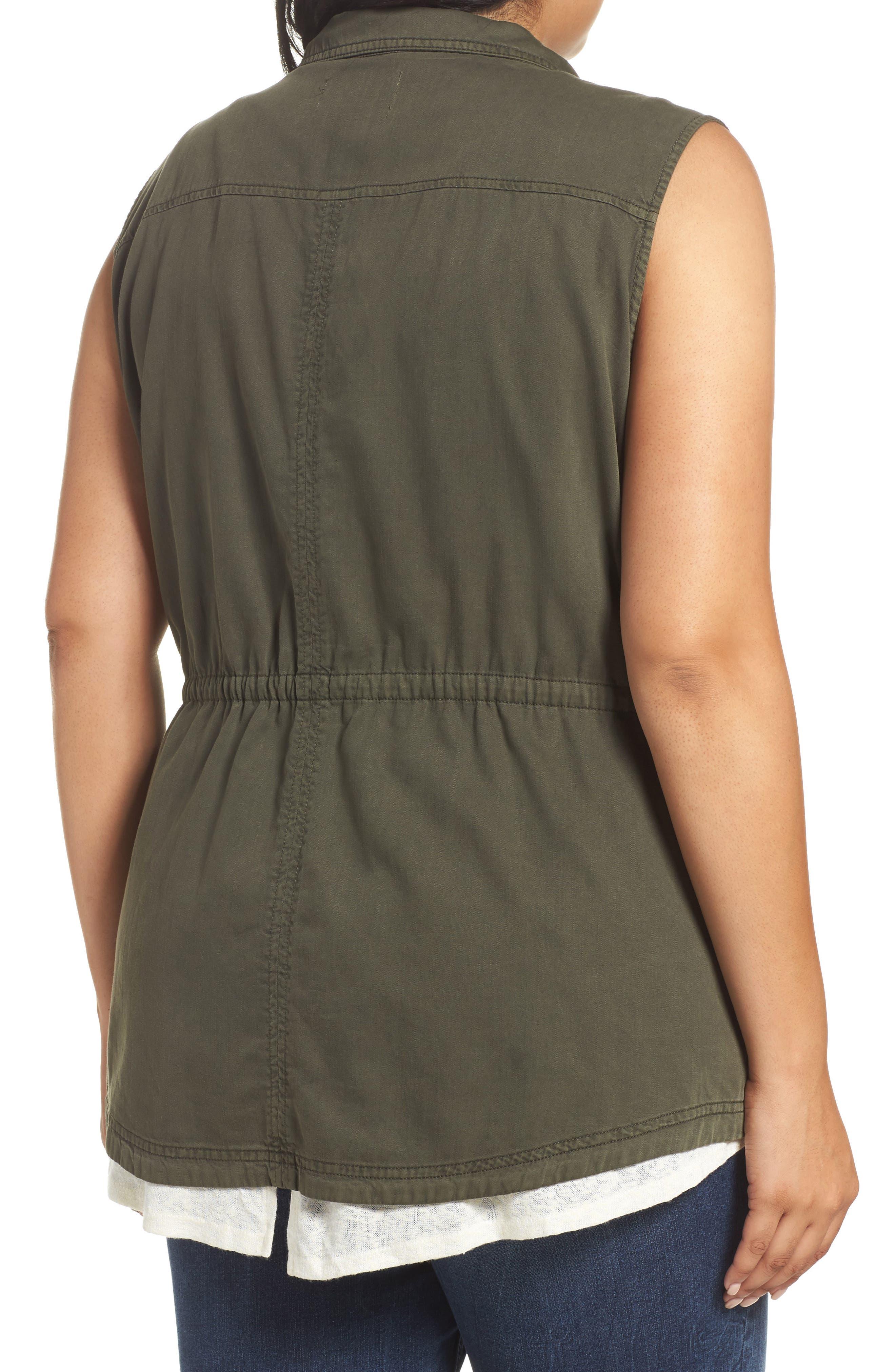 Utility Vest,                             Alternate thumbnail 2, color,                             Olive