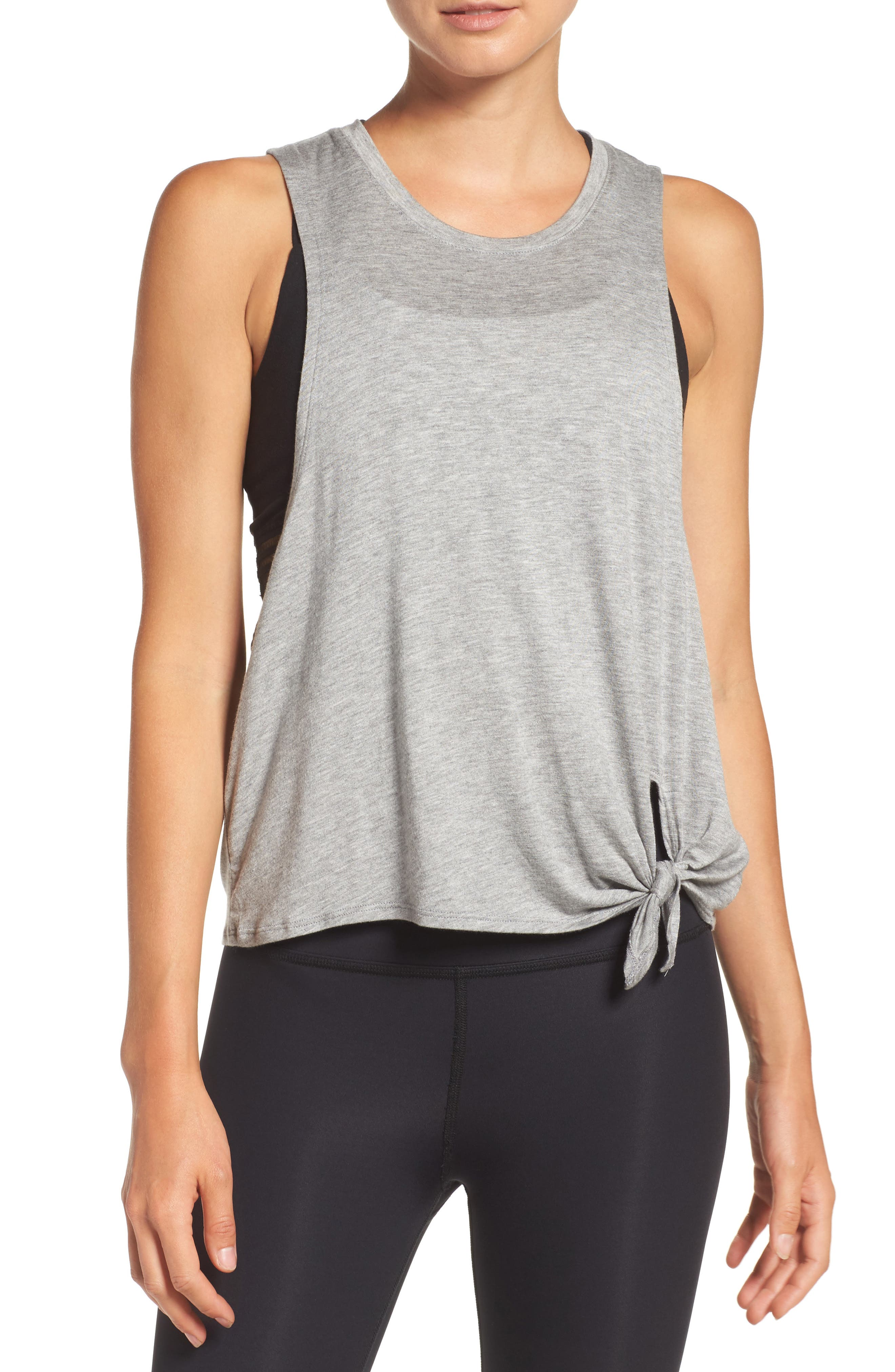Main Image - Beyond Yoga All Tied Up Muscle Tank
