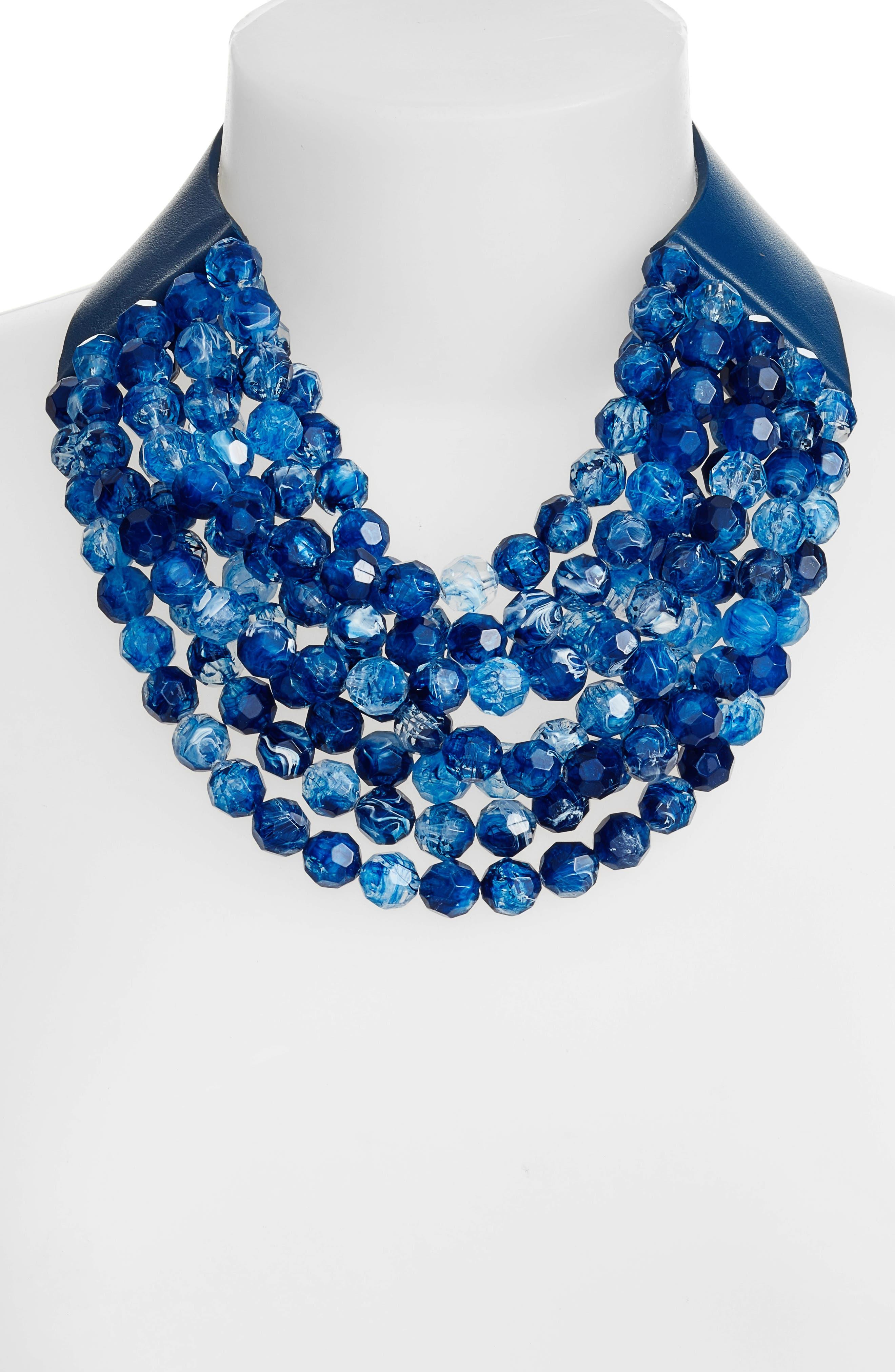 Alternate Image 2  - Fairchild Baldwin Bella Beaded Collar Necklace