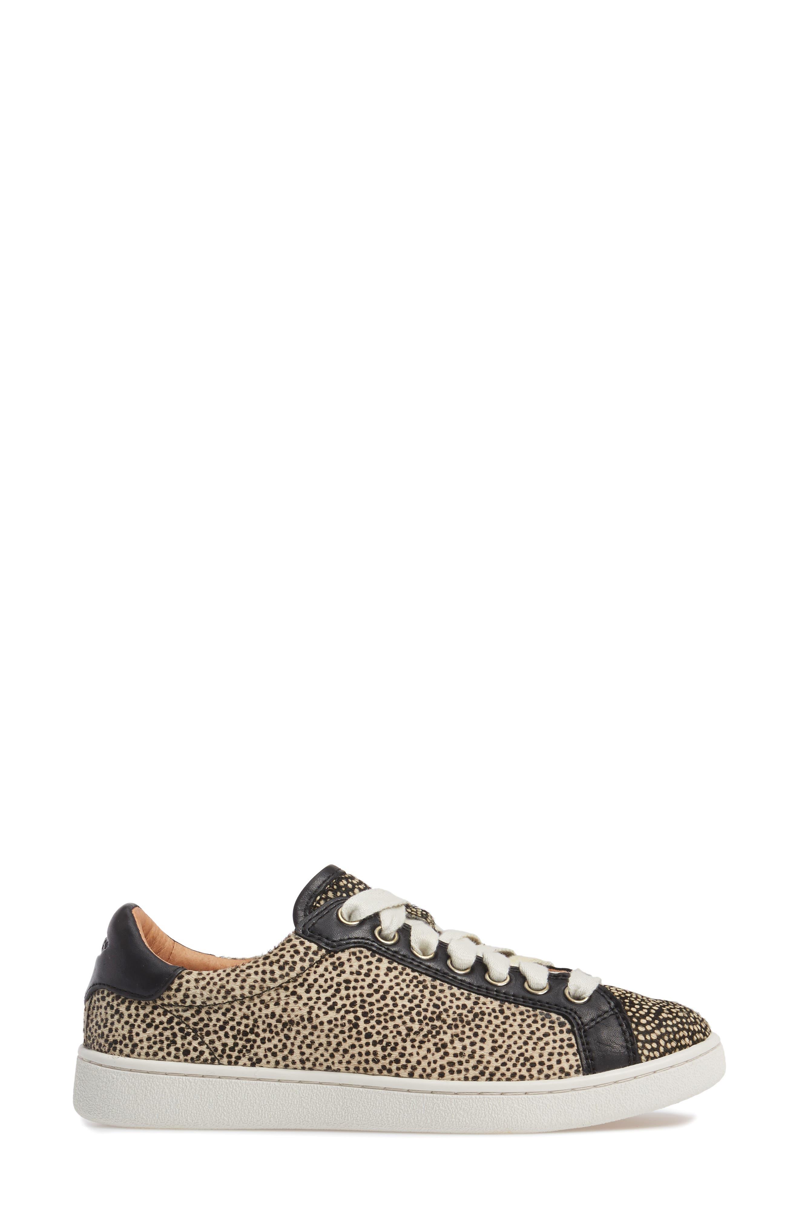 Alternate Image 3  - UGG® Milo Genuine Calf Hair Sneaker (Women)
