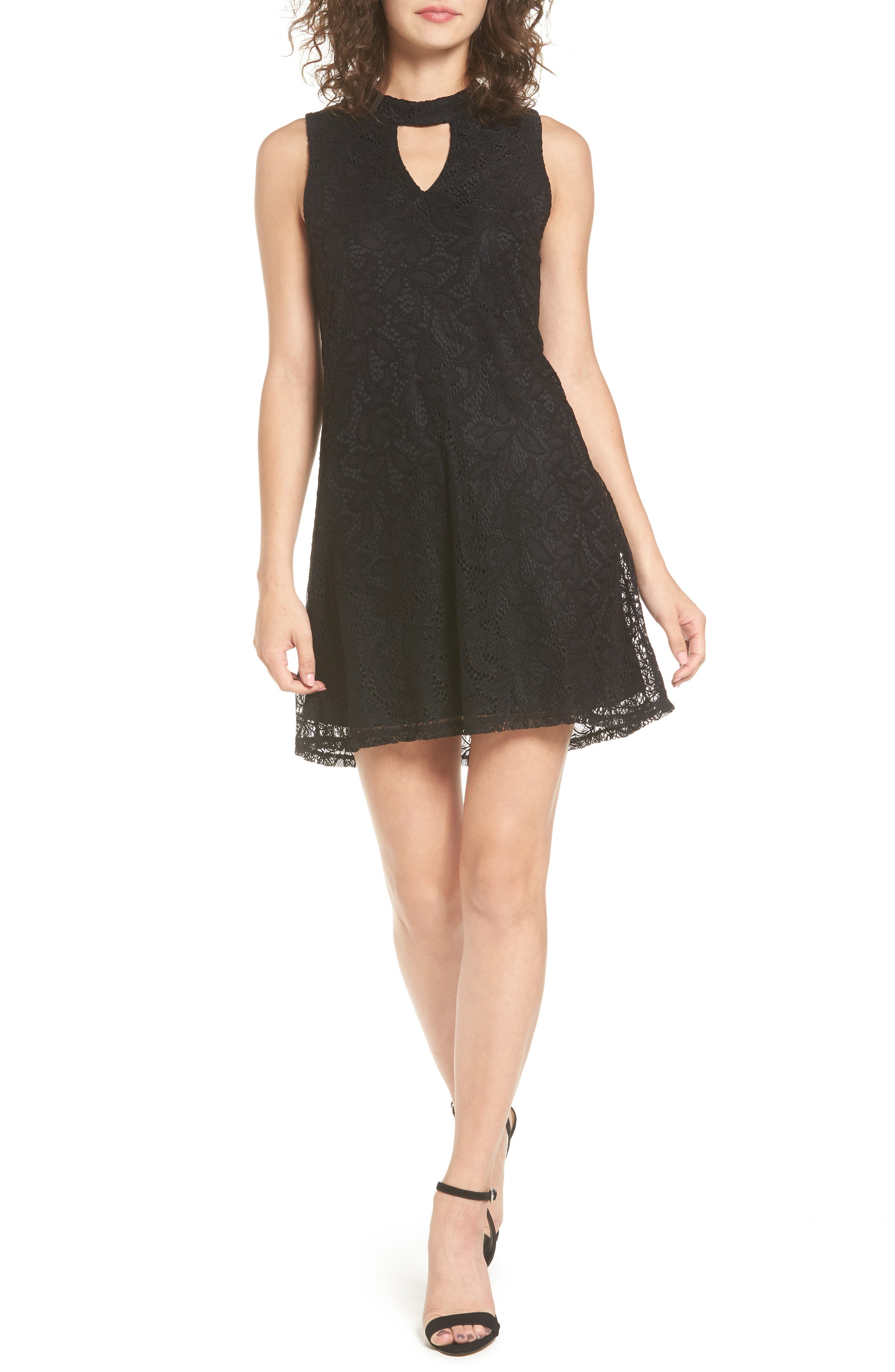 As You Wish Keyhole Lace Dress