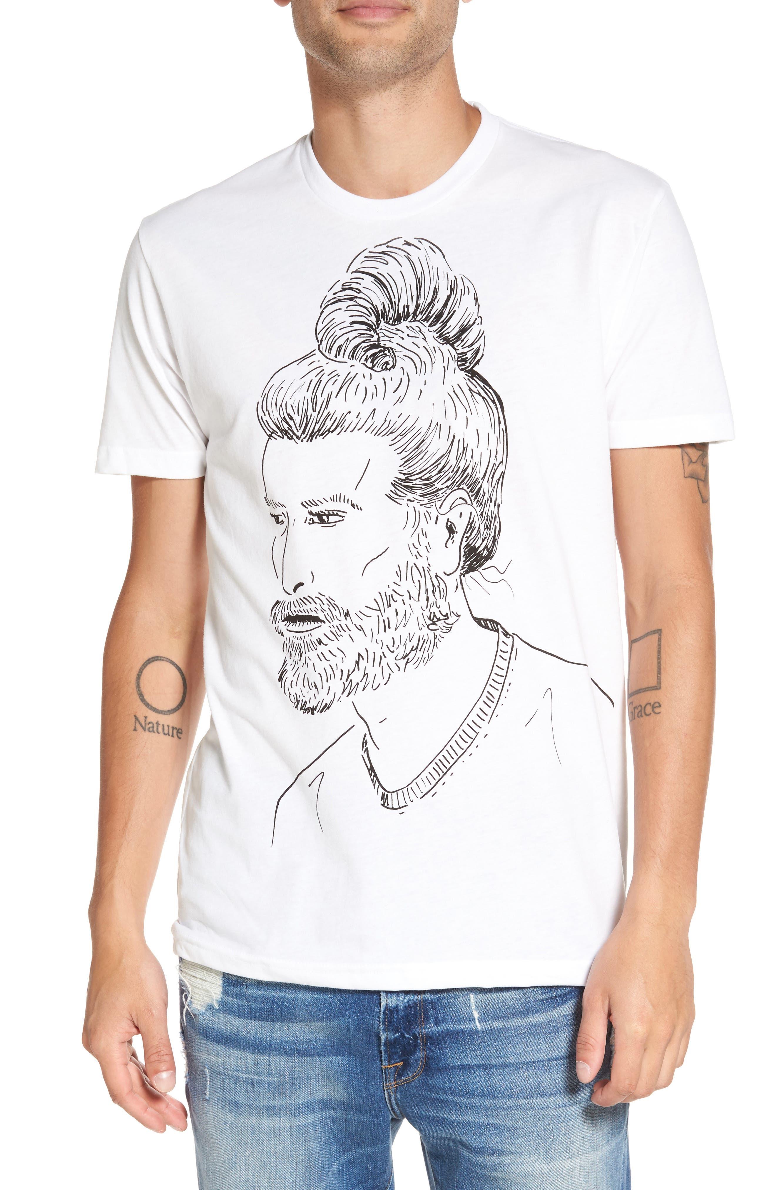 PalmerCash Man Croissant T-Shirt