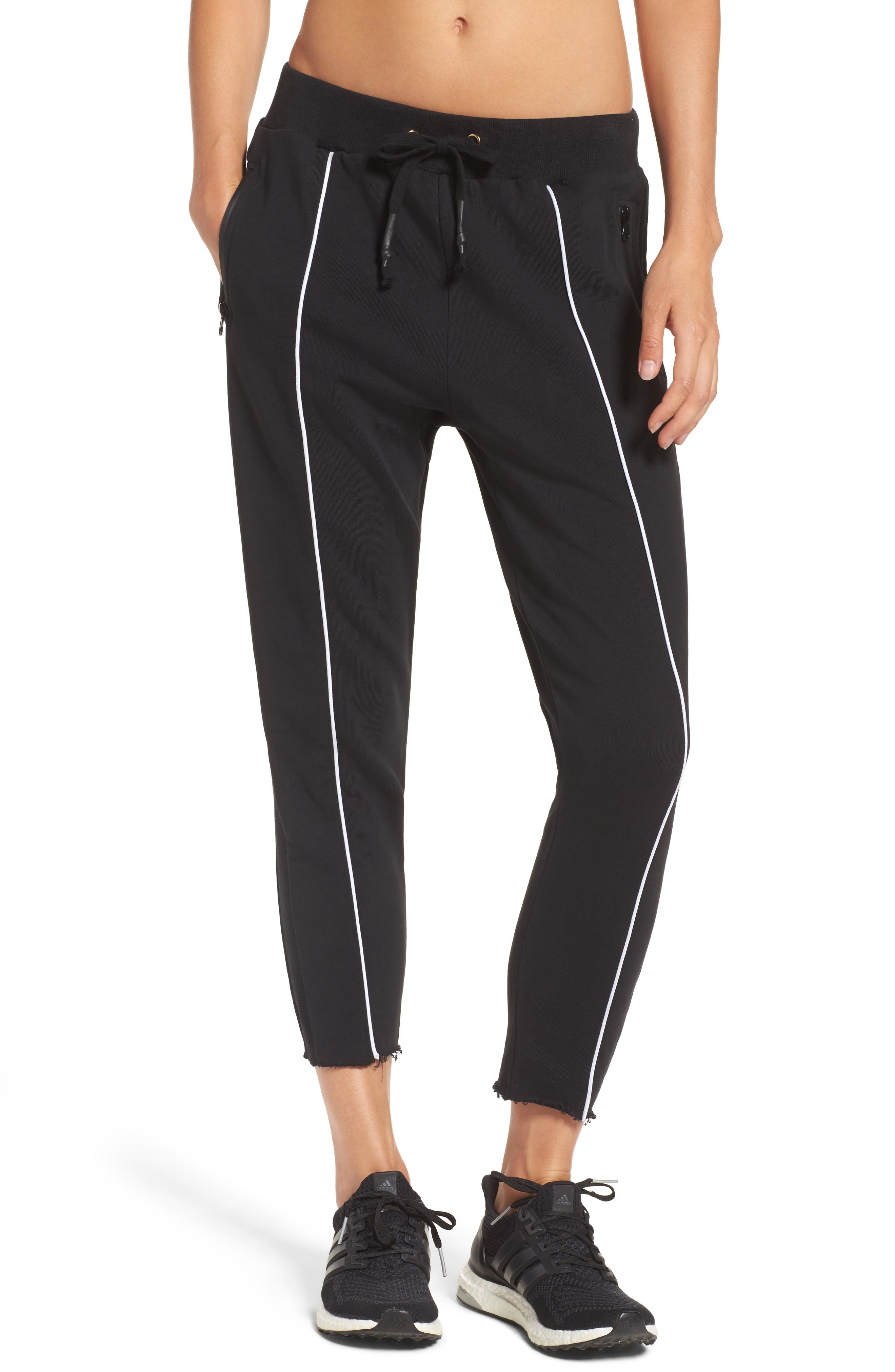 Deuce Track Pants,                         Main,                         color, Black
