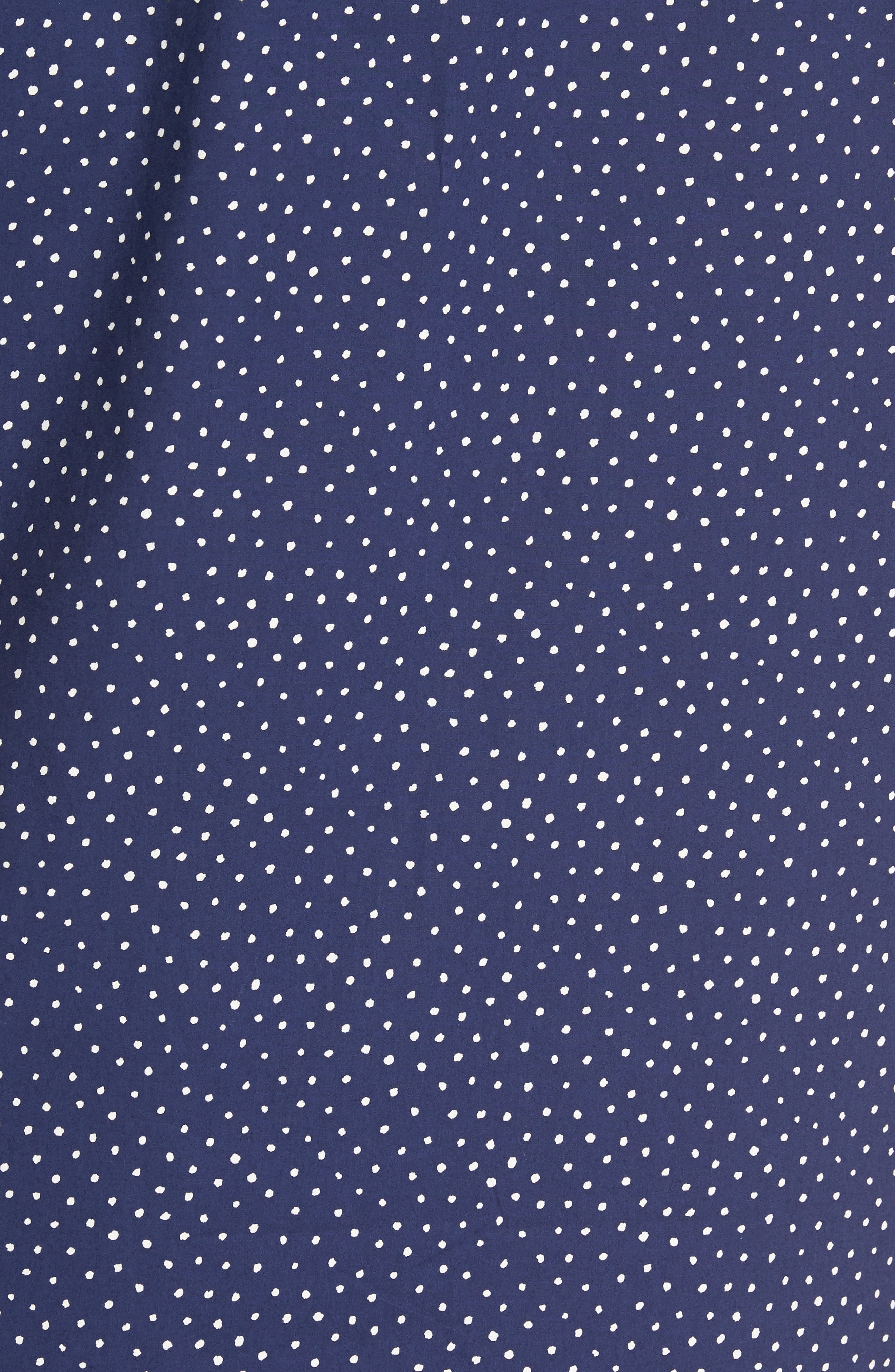 Alternate Image 6  - PAIGE Becker Dot Print Woven Shirt