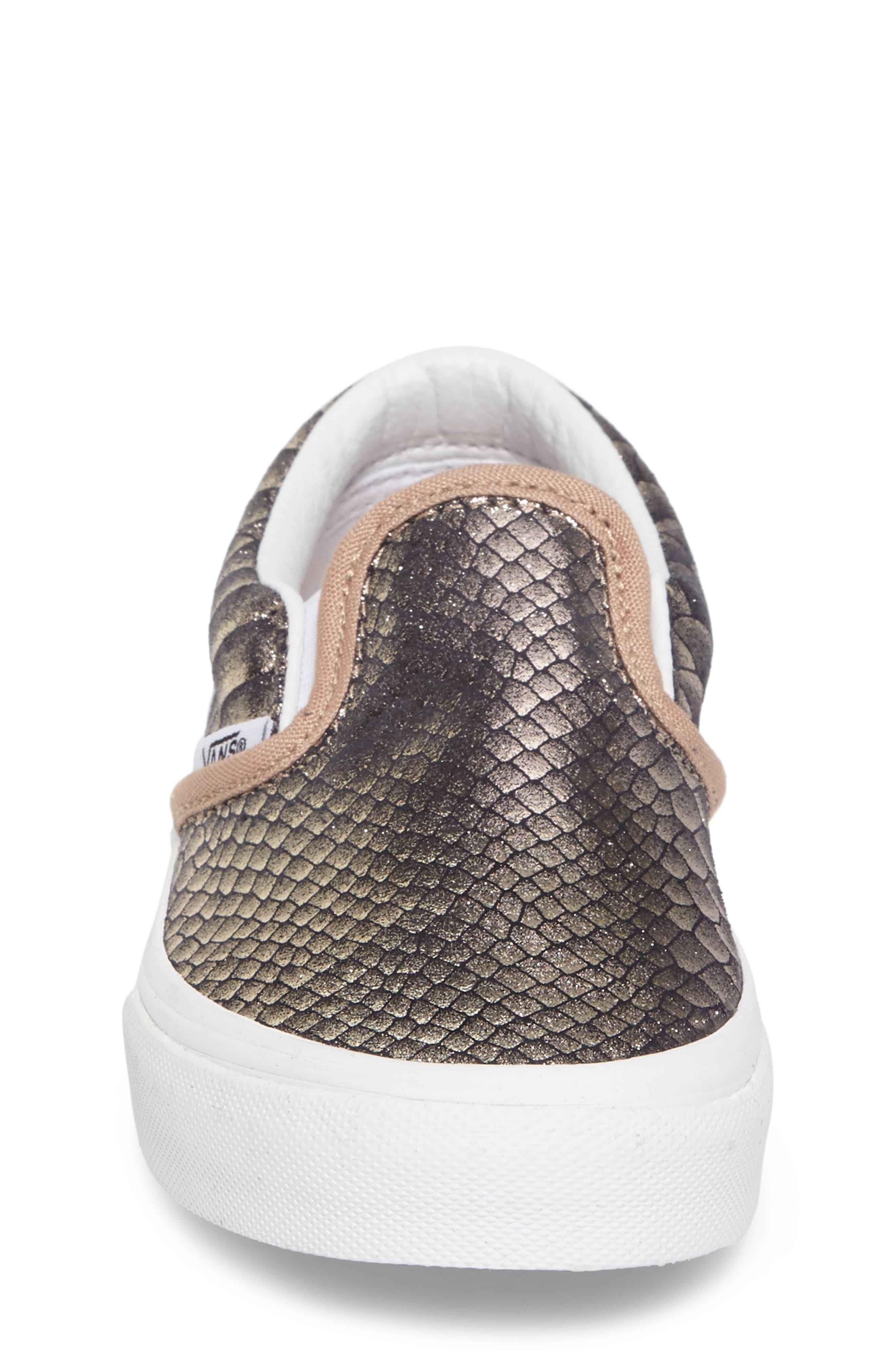 Alternate Image 4  - Vans Classic Slip-On Sneaker (Baby, Walker, Toddler, Little Kid & Big Kid)