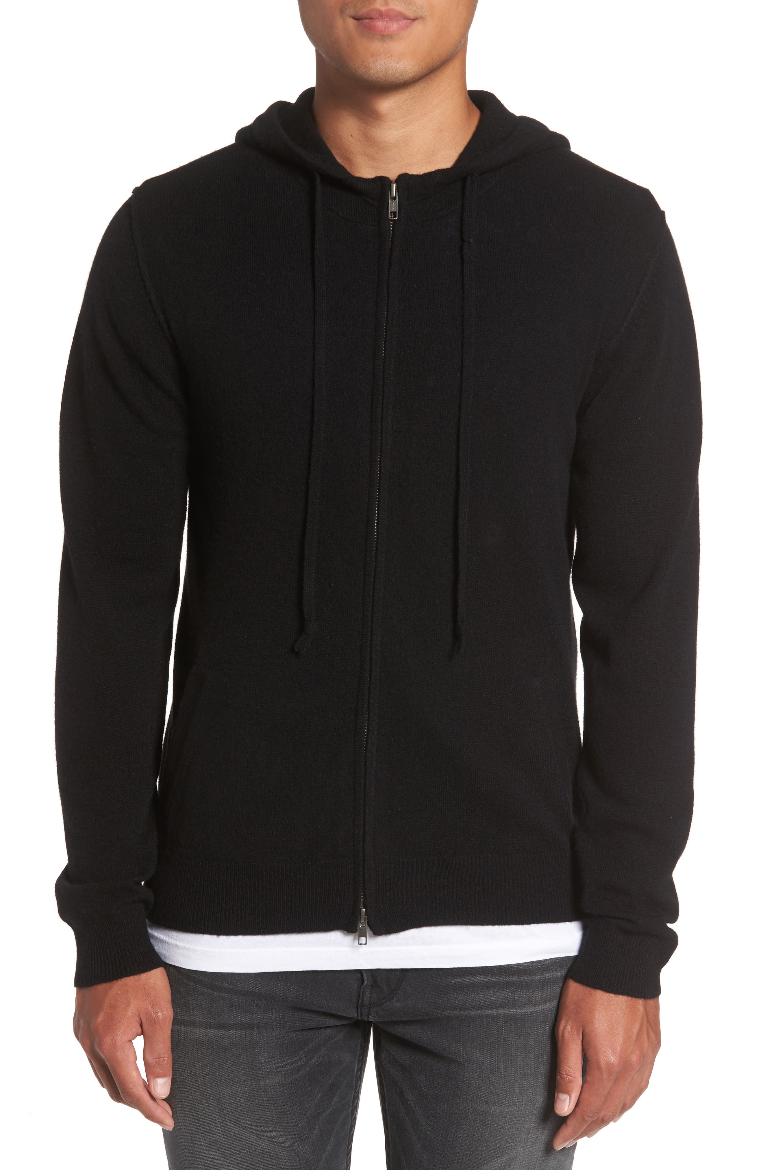 PAIGE Cason Hooded Zip Sweater