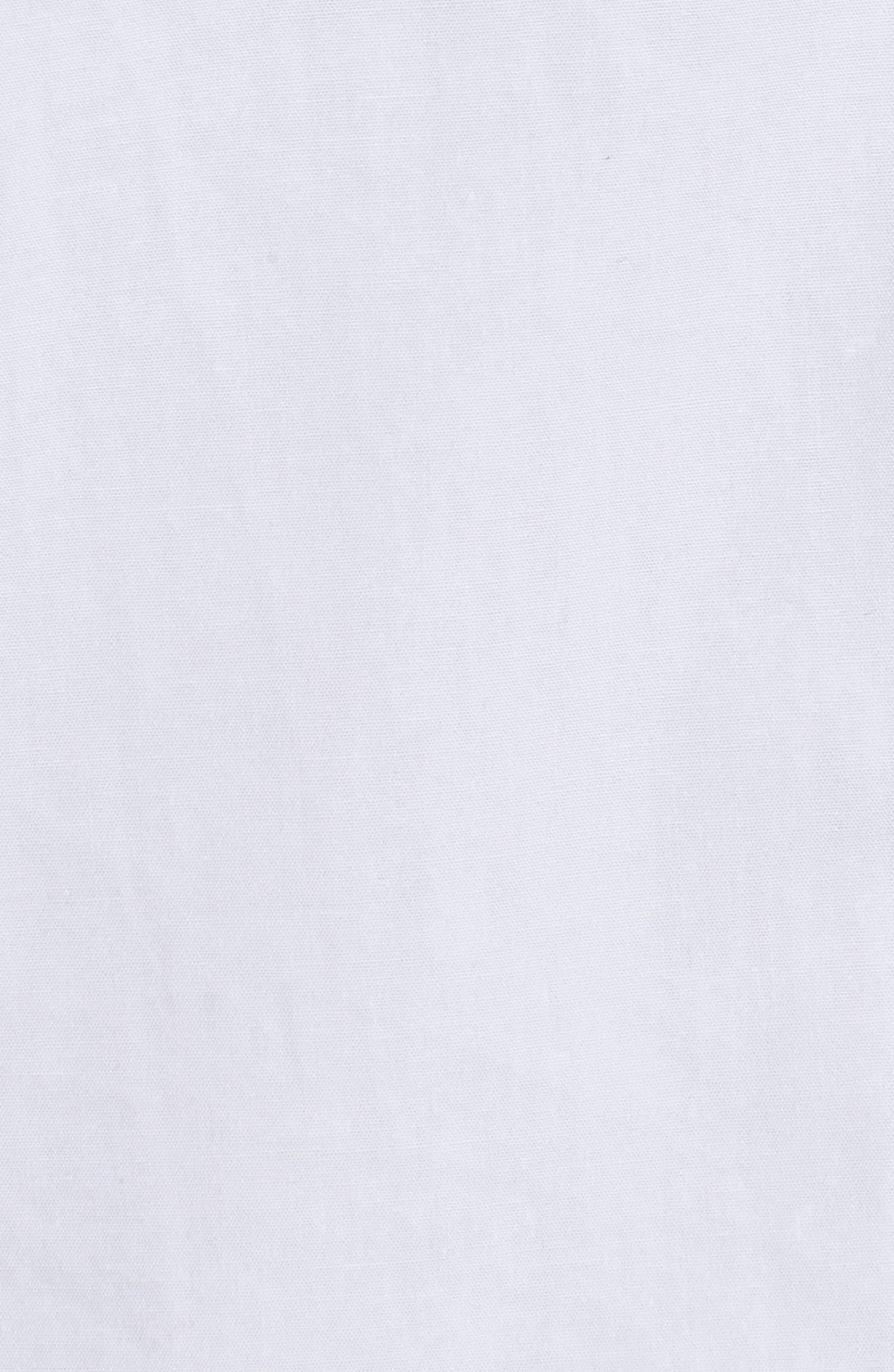 Poplin Blouse,                             Alternate thumbnail 6, color,                             White
