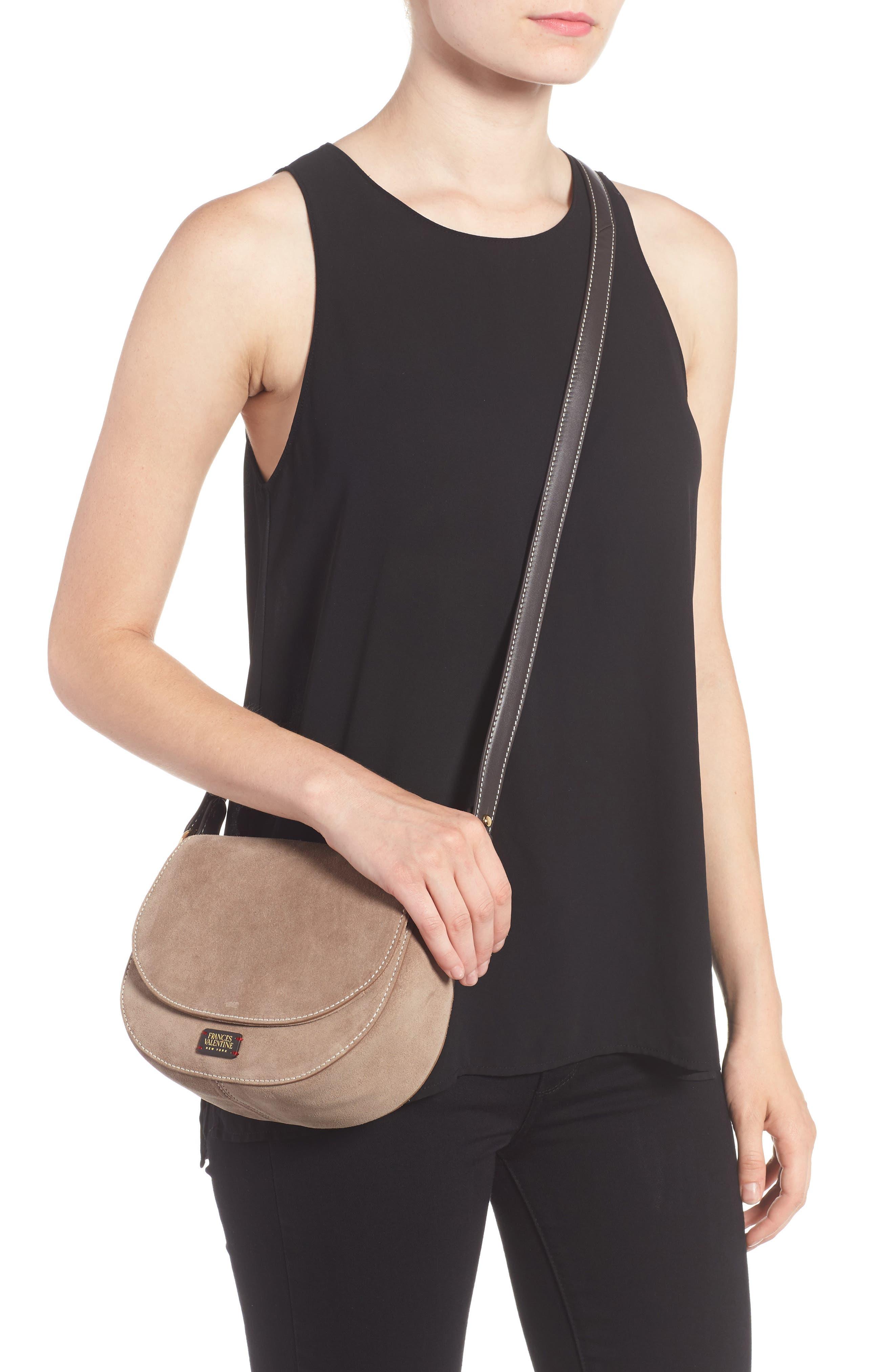 Alternate Image 2  - Frances Valentine Mini Ellen Suede Crossbody Bag