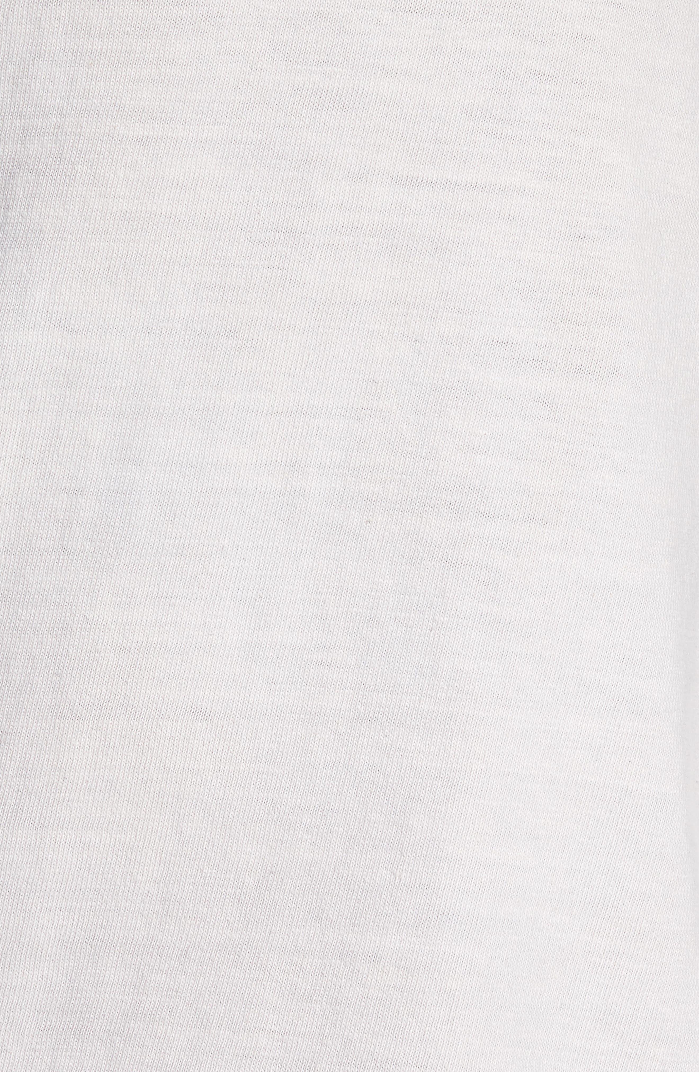 Standard Fit Pullover Hoodie,                             Alternate thumbnail 5, color,                             Concrete Dust Pigment