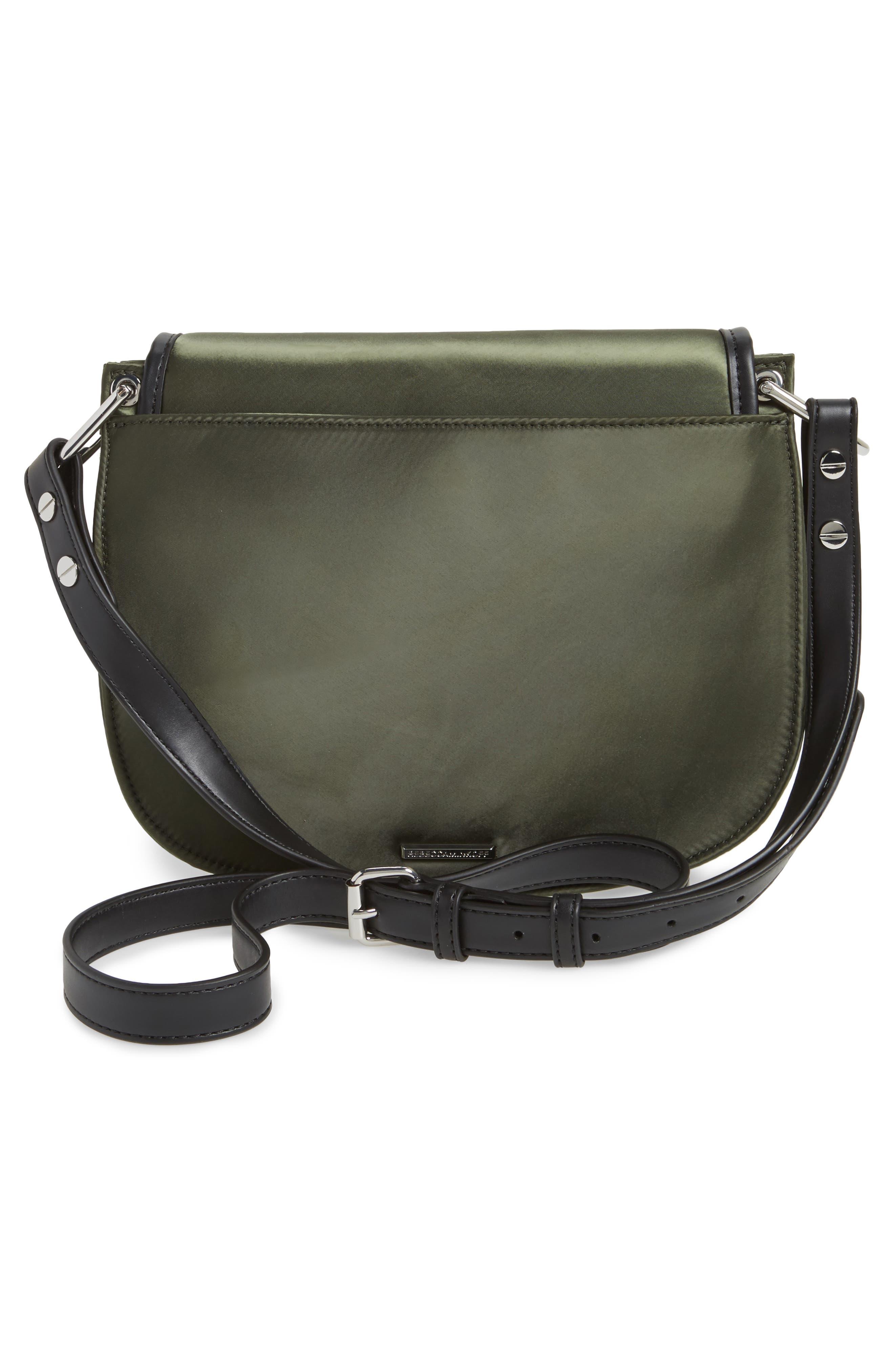 Alternate Image 3  - Rebecca Minkoff Military Satin Nylon Saddle Bag