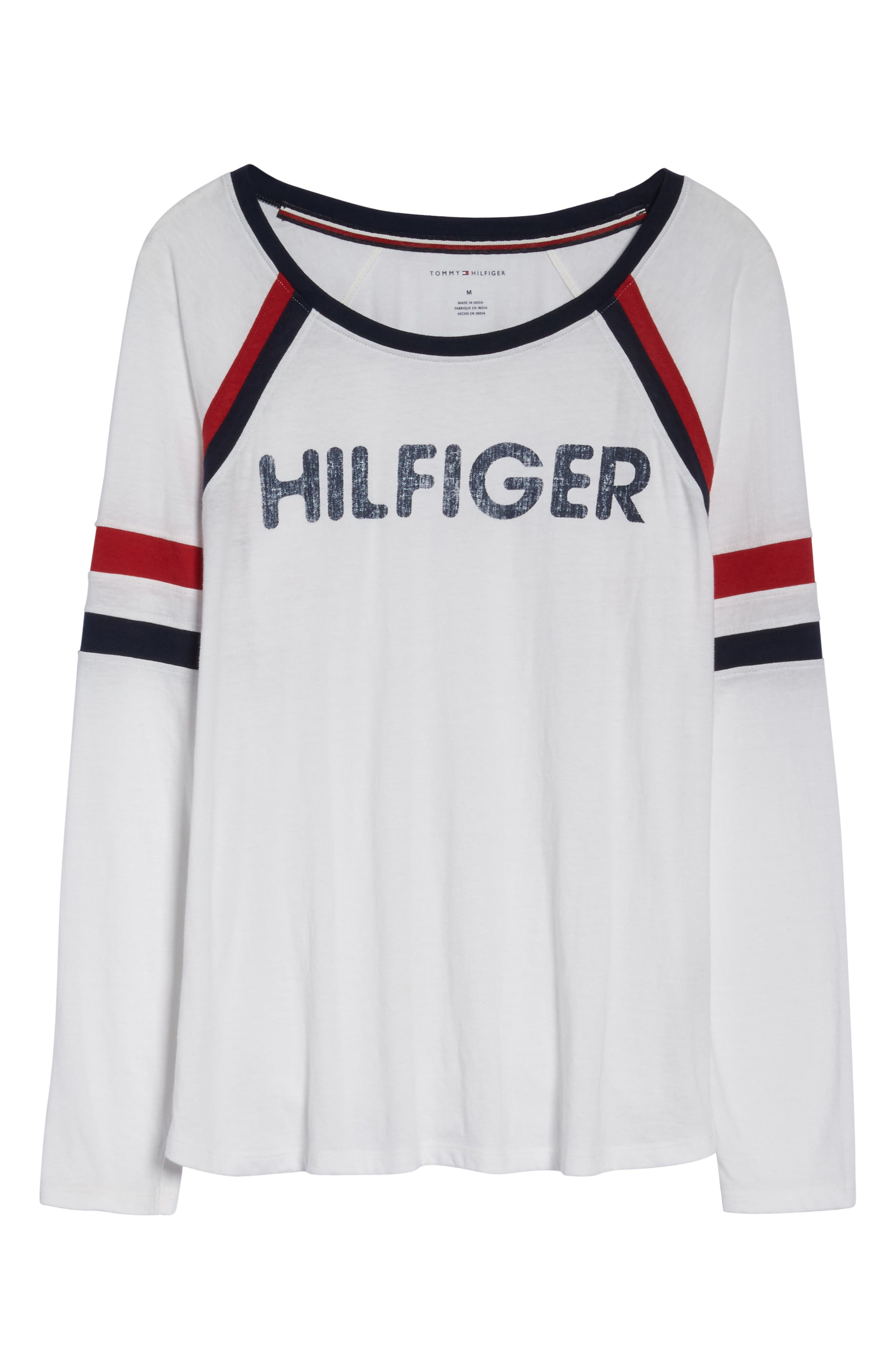 Alternate Image 4  - Tommy Hilfiger TH Logo Tee