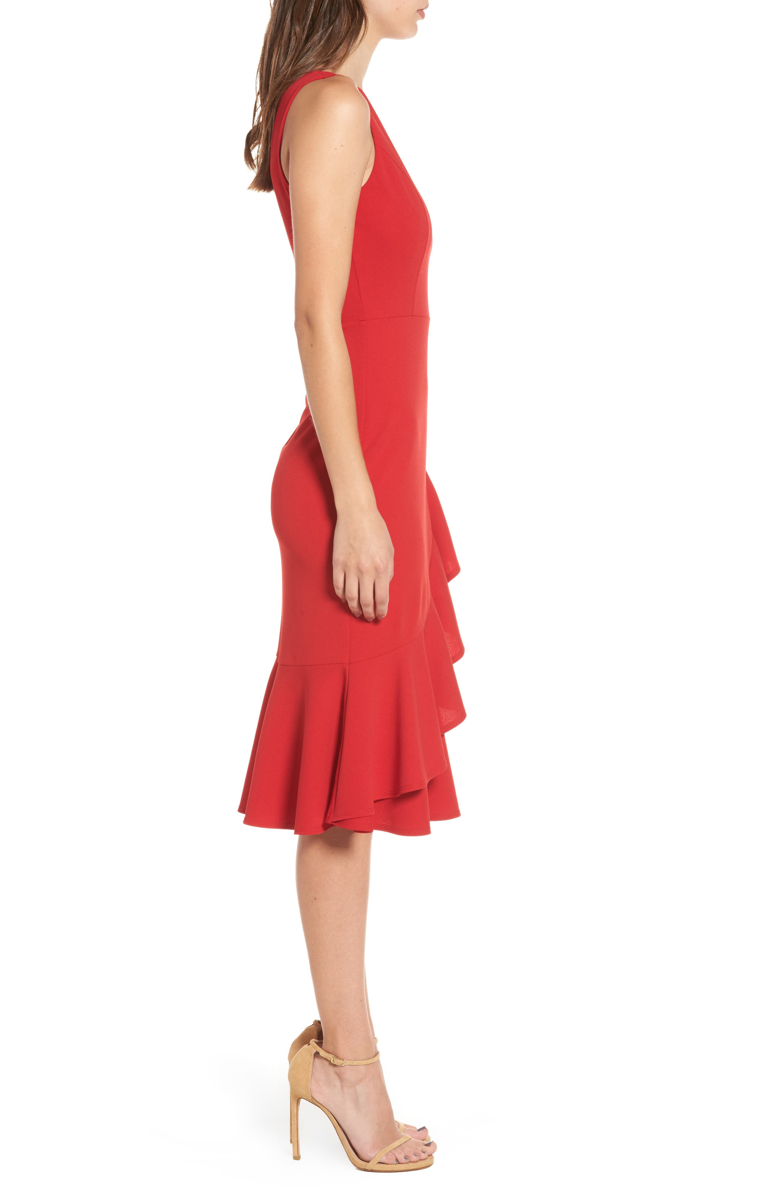 Alternate Image 3  - Soprano Ruffle Hem Dress