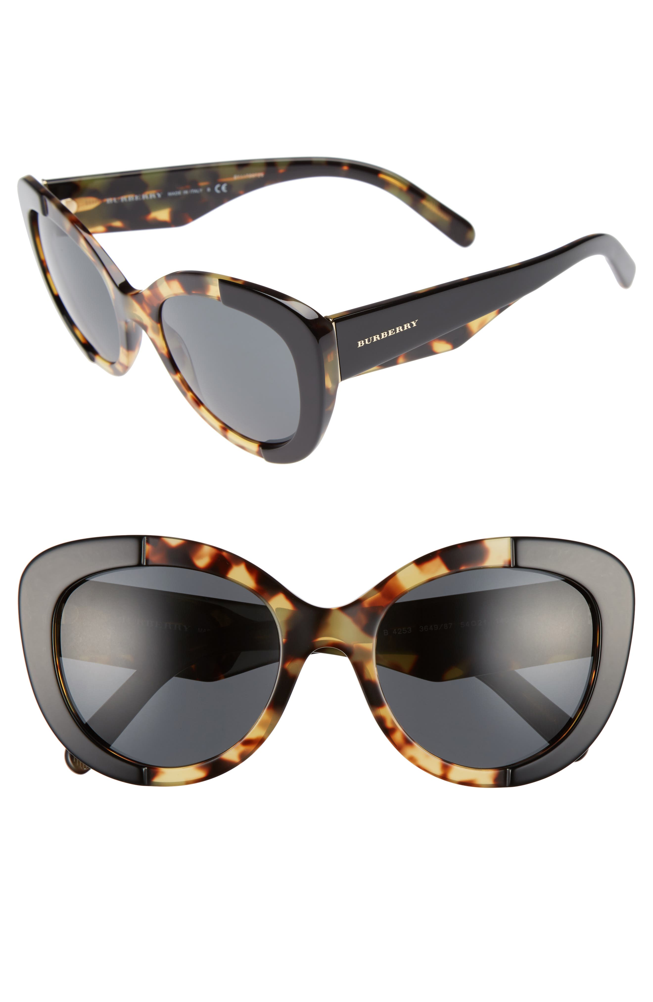 Burberry 54mm Butterfly Sunglasses