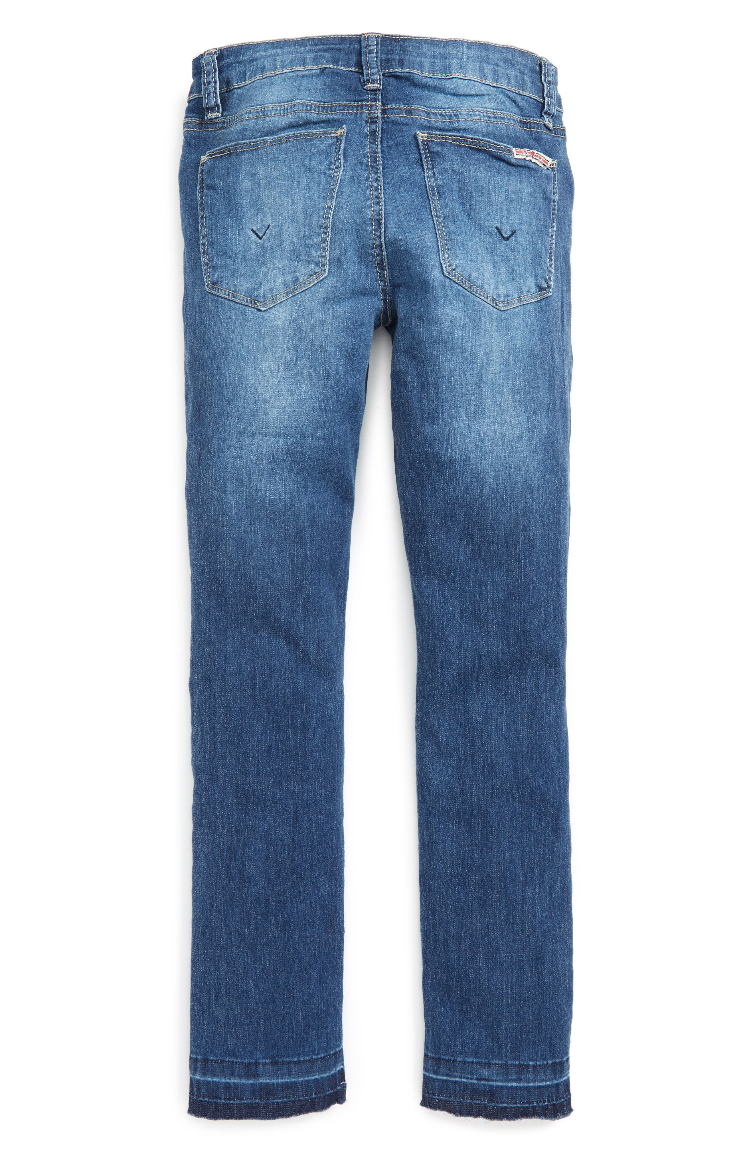 Alternate Image 2  - Hudson Kids Nico Ankle Skinny Jeans (Big Girls)