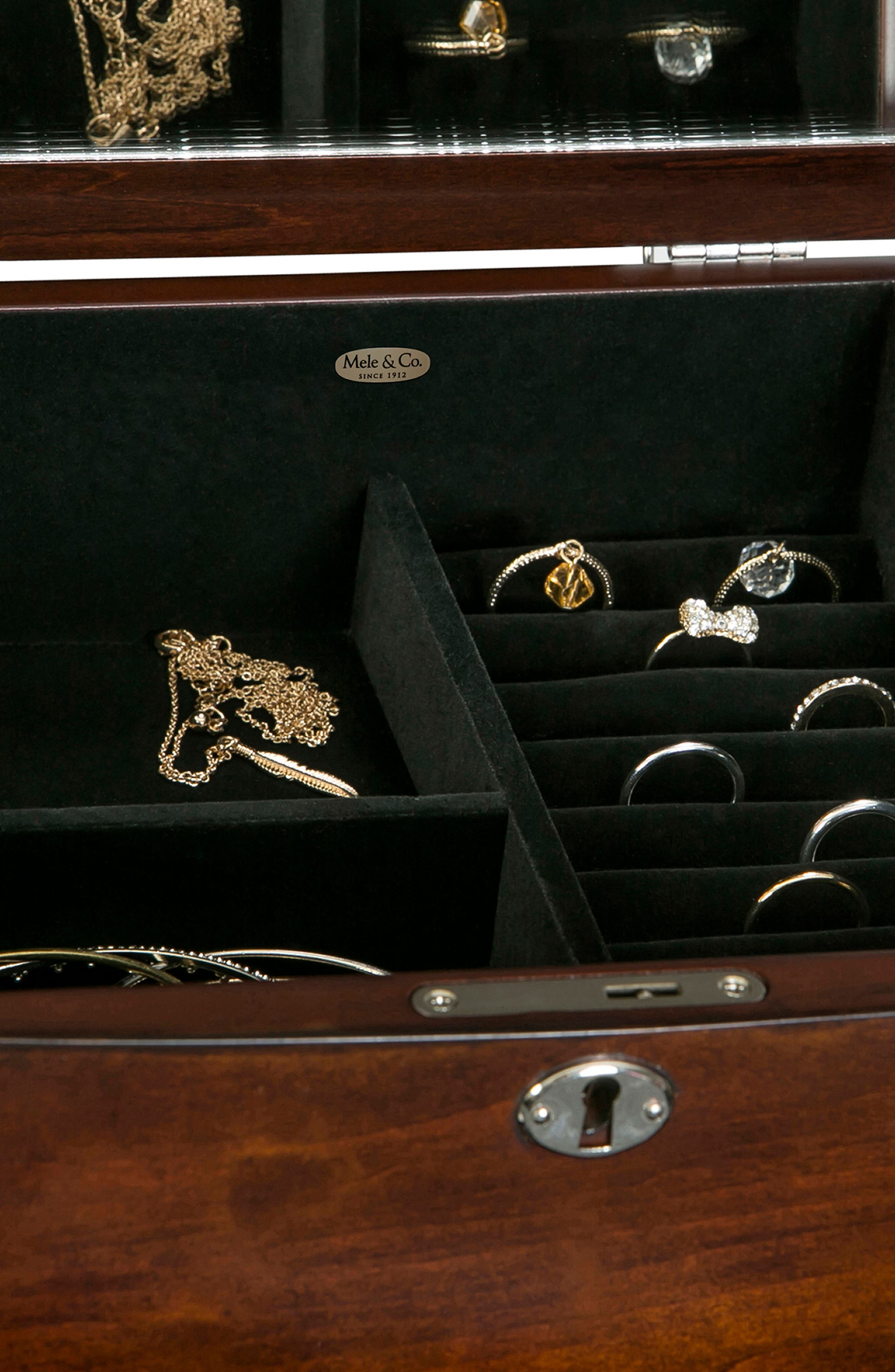 Alternate Image 3  - Mele & Co. Westfield Jewelry Armoire