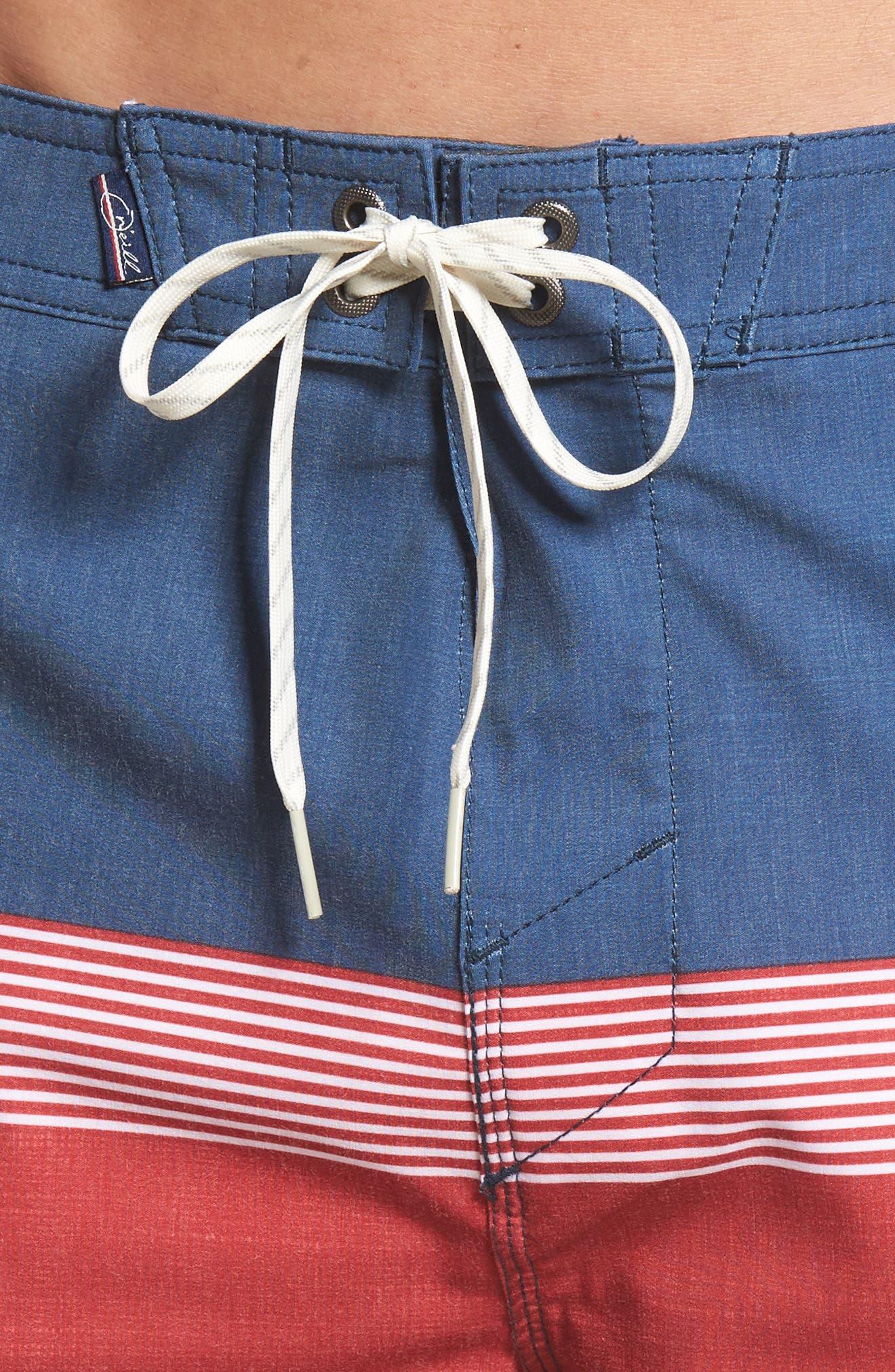 Surfside Board Shorts,                             Alternate thumbnail 4, color,                             Red