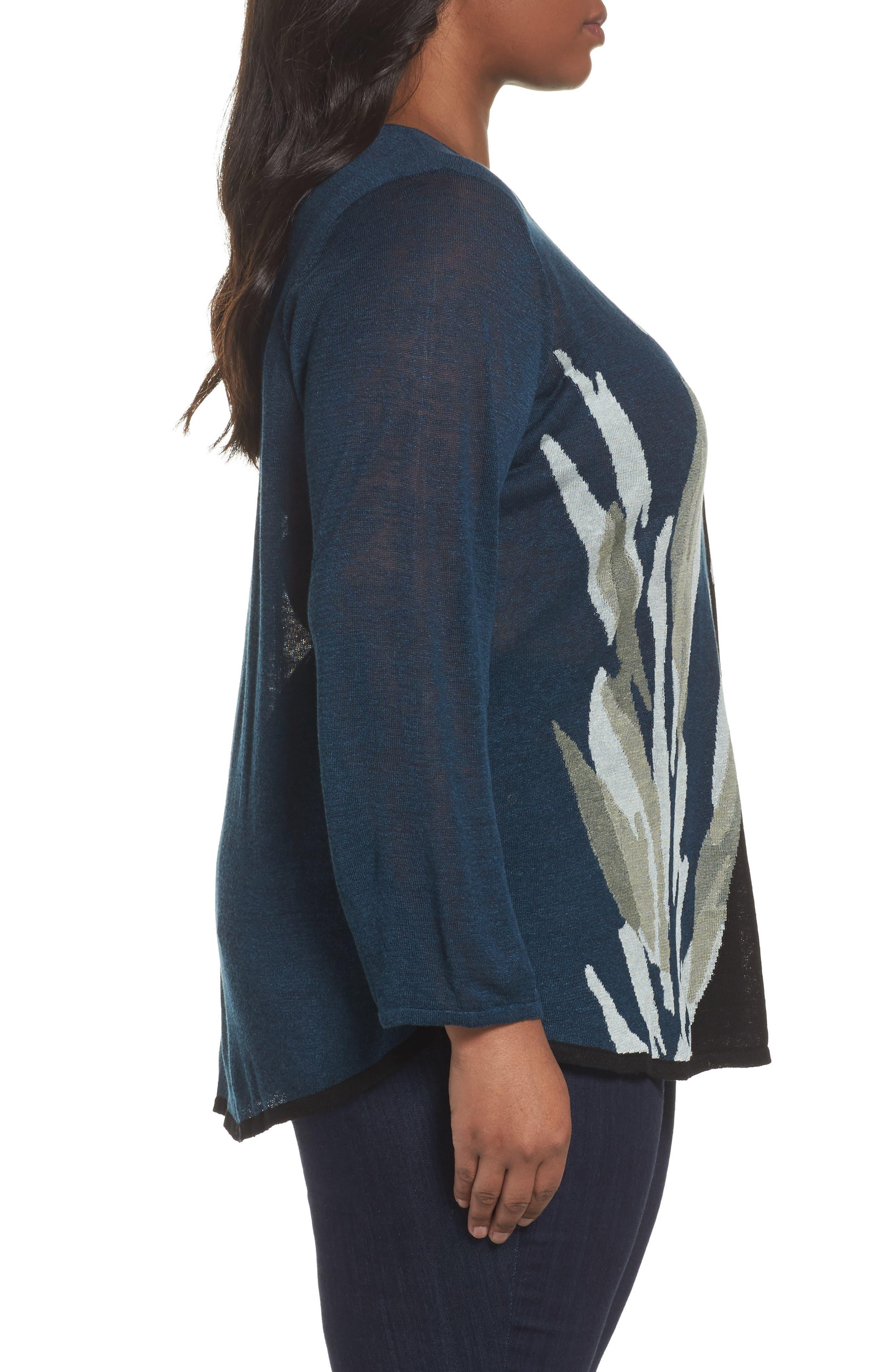 Wild Thyme Sweater,                             Alternate thumbnail 3, color,                             Multi
