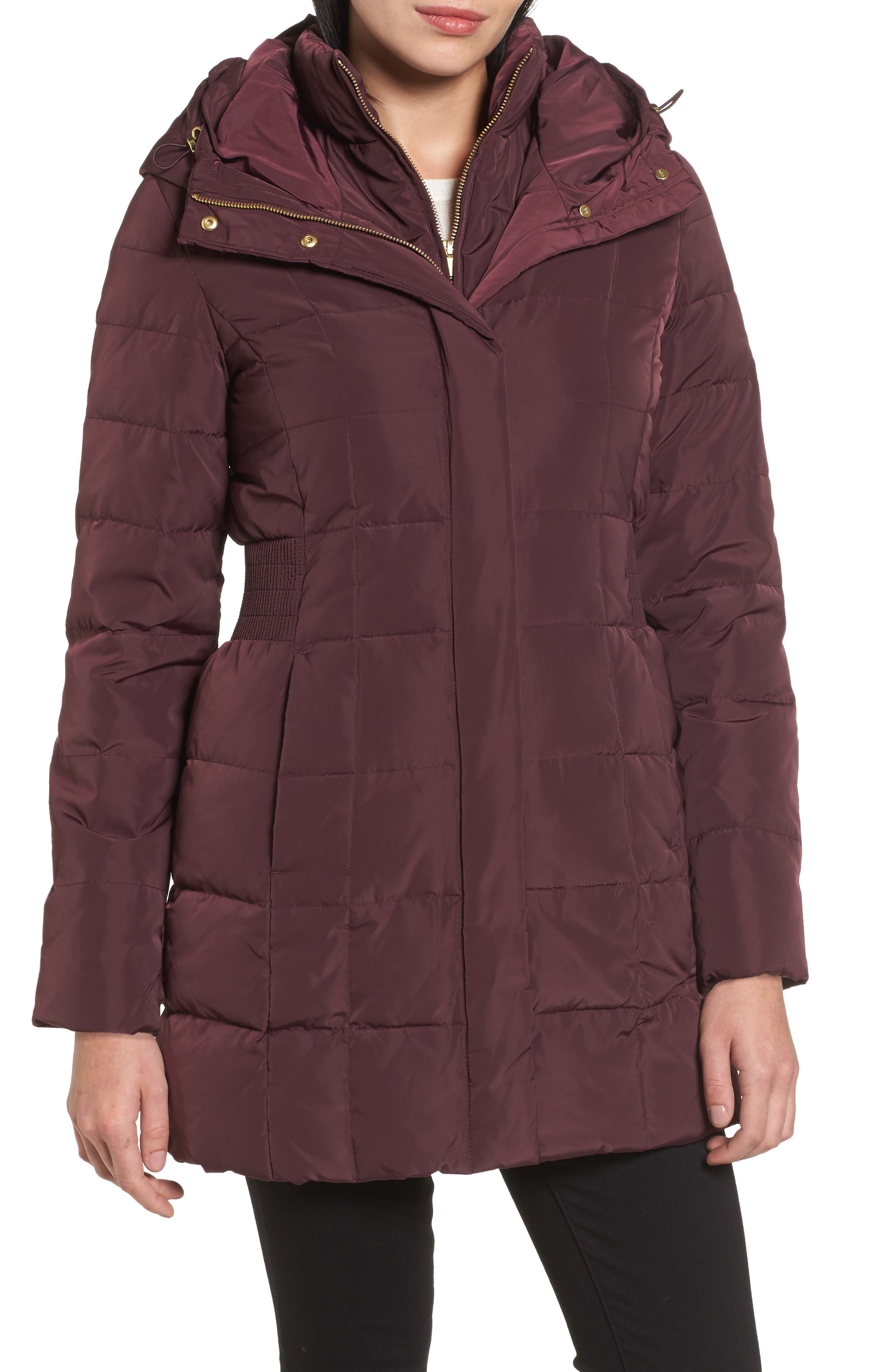COLE HAAN SIGNATURE Cole Haan Hooded Down & Feather Jacket