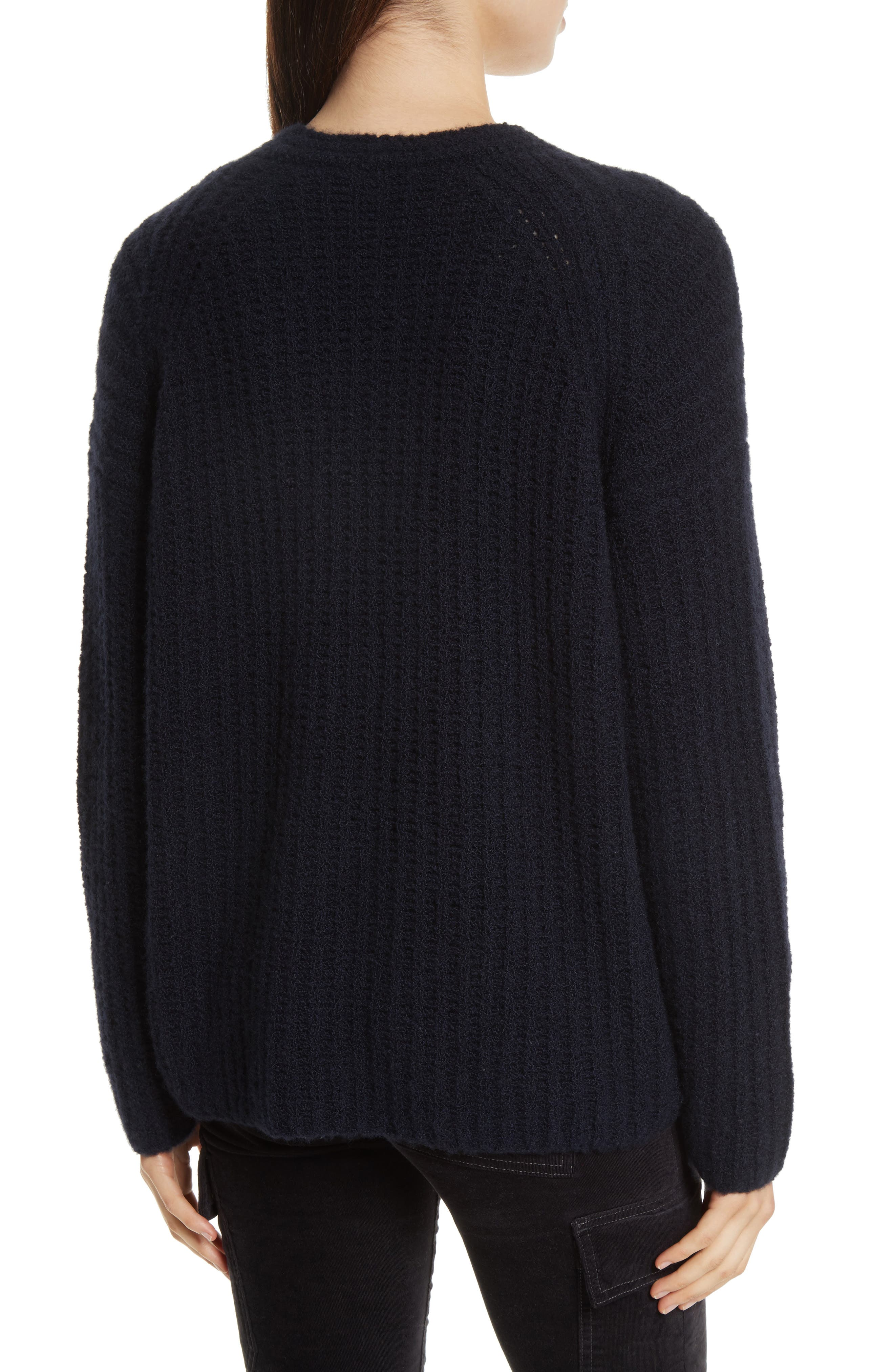 Alternate Image 2  - Vince Deep V-Neck Cashmere Blend Sweater