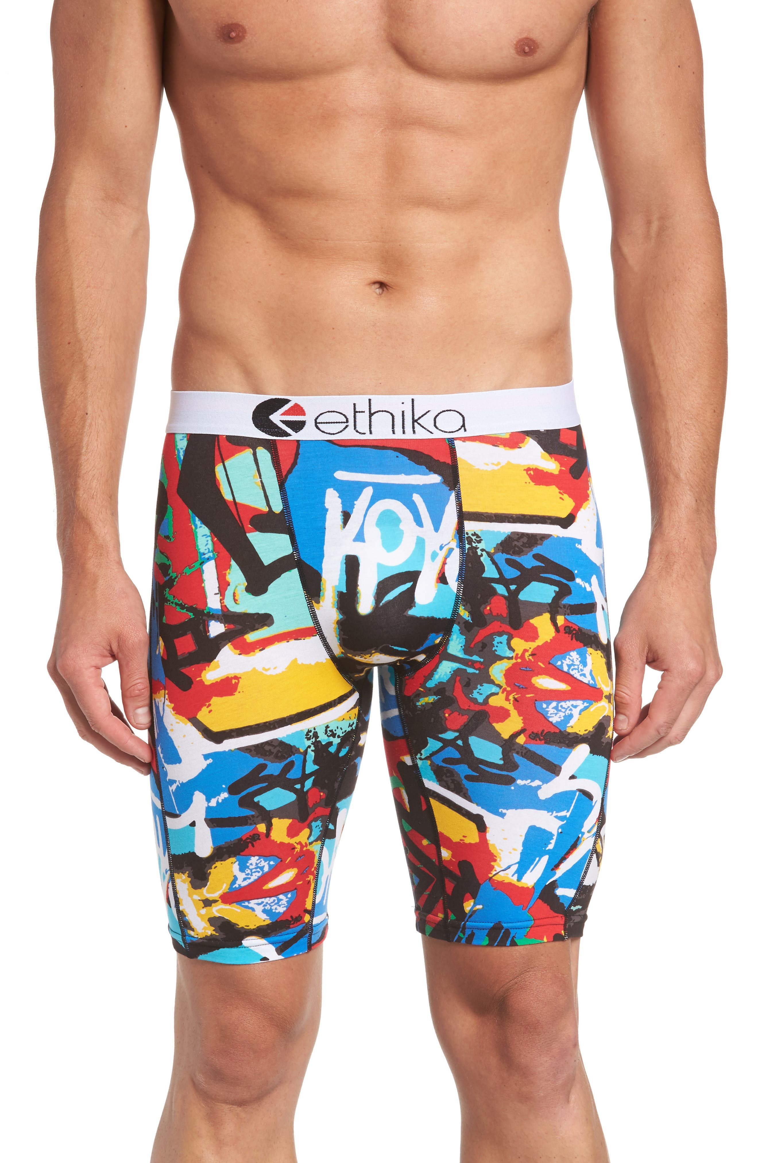 Ethika Wall Talk Boxer Briefs