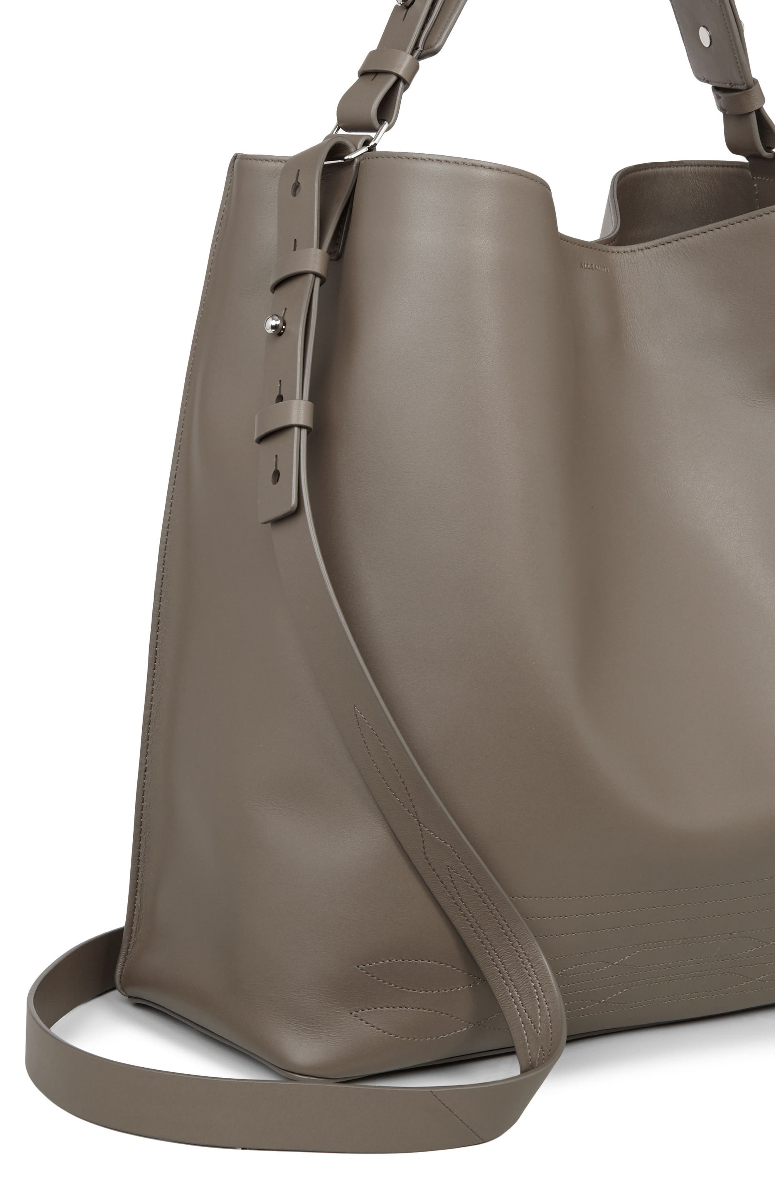Alternate Image 6  - ALLSAINTS Cooper East/West Calfskin Leather Tote