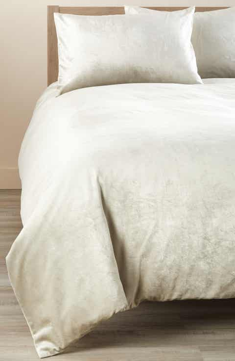 Nordstrom at Home Shimmer Velvet Duvet Cover. Nordstrom At Home Modern Duvet Covers   Pillow Shams   Nordstrom