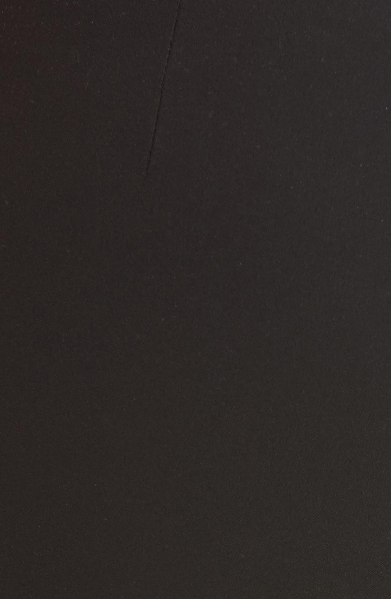 Alternate Image 6  - rag & bone Josephine Leather Front Skinny Pants