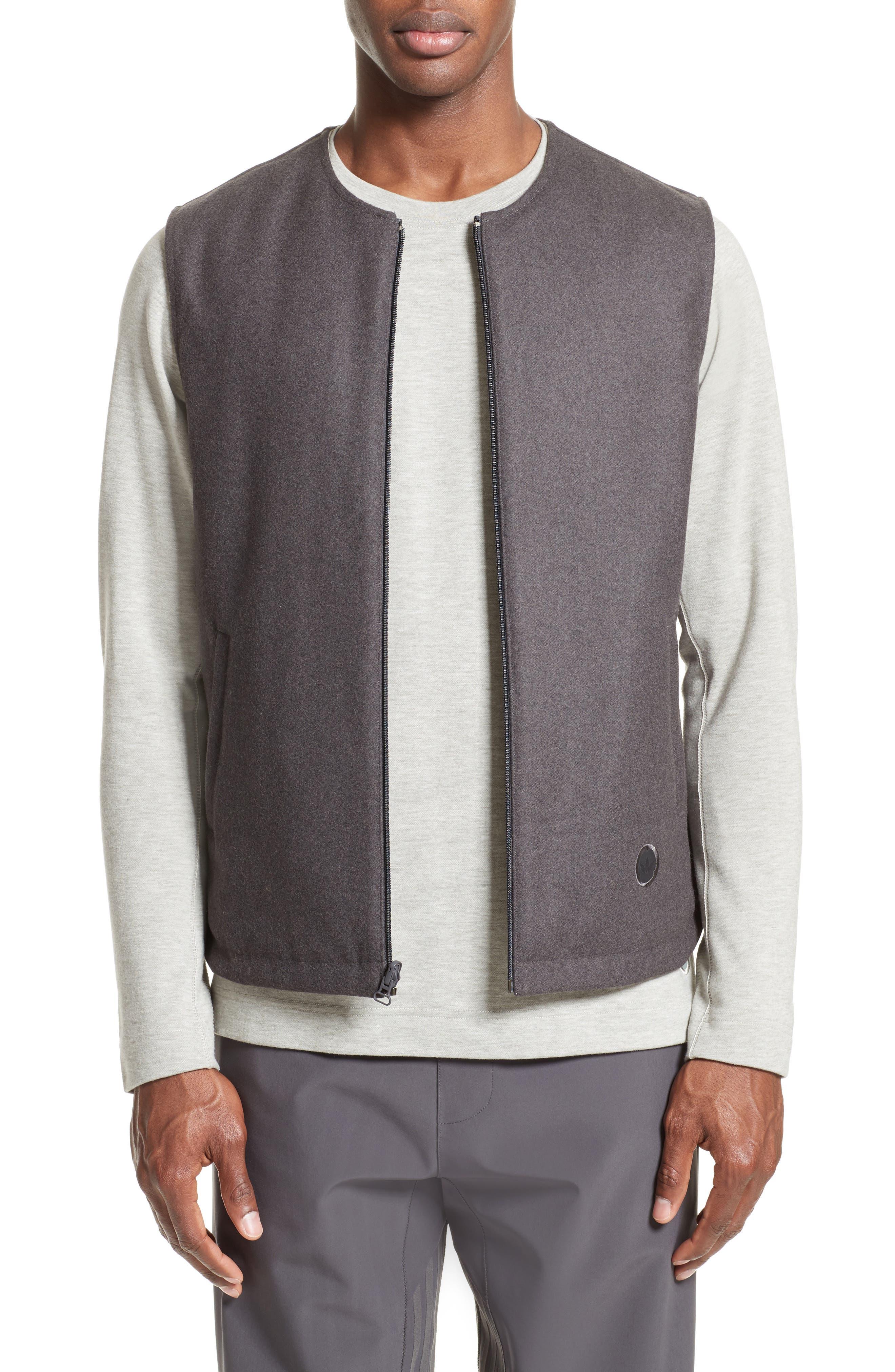 Reversible Vest,                             Main thumbnail 1, color,                             Light Brown