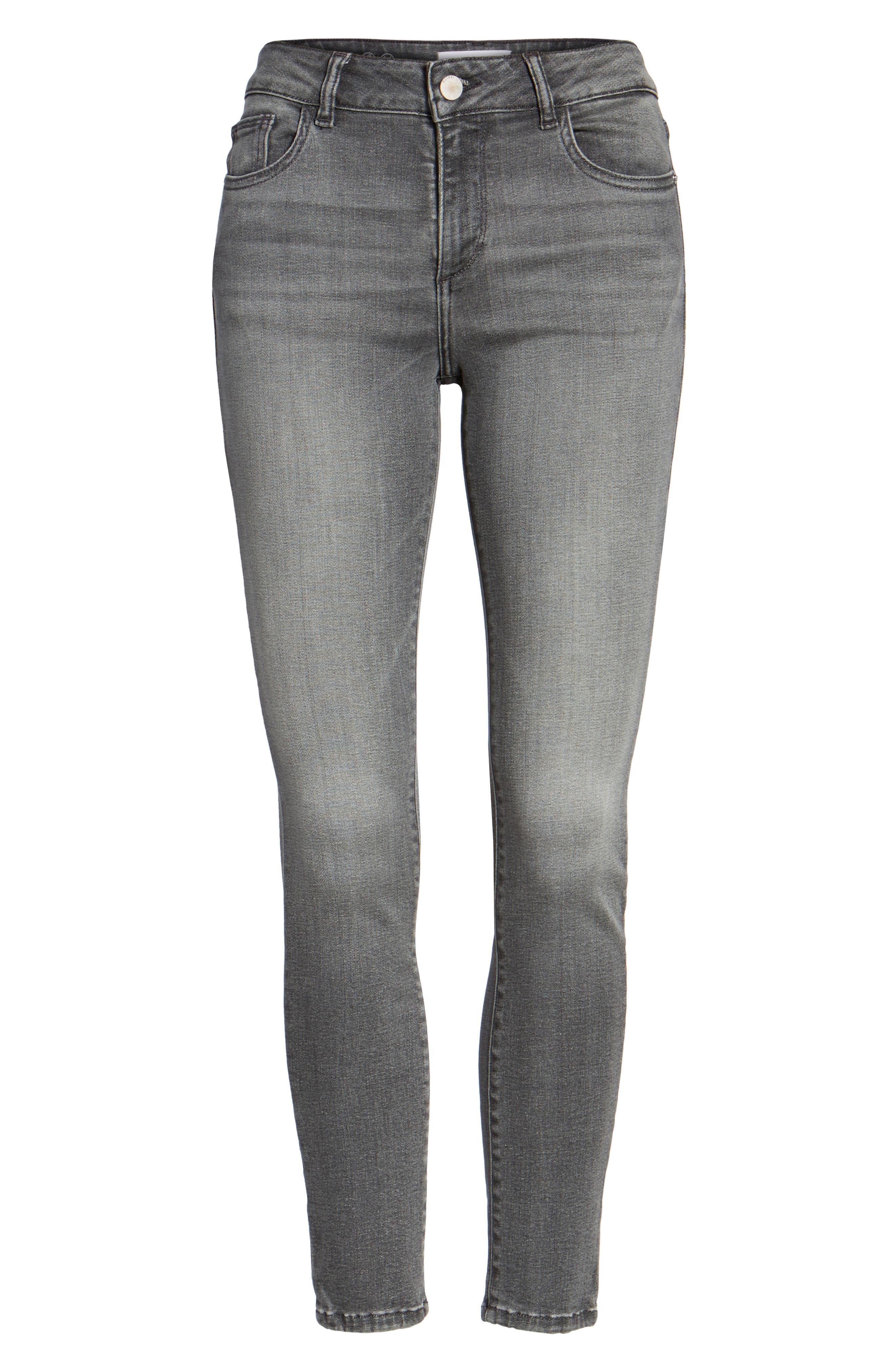 Farrow High Waist Instaslim Skinny Jeans,                             Alternate thumbnail 6, color,                             Whitney