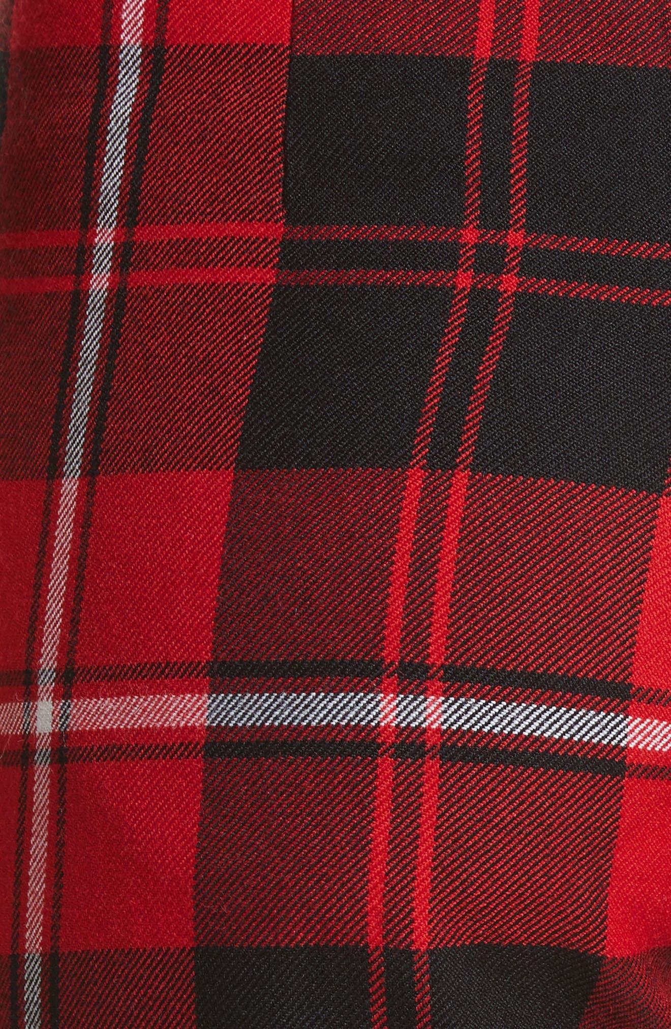 Alternate Image 5  - Dilara Findikoglu Manson Tartan Plaid Wool Pants