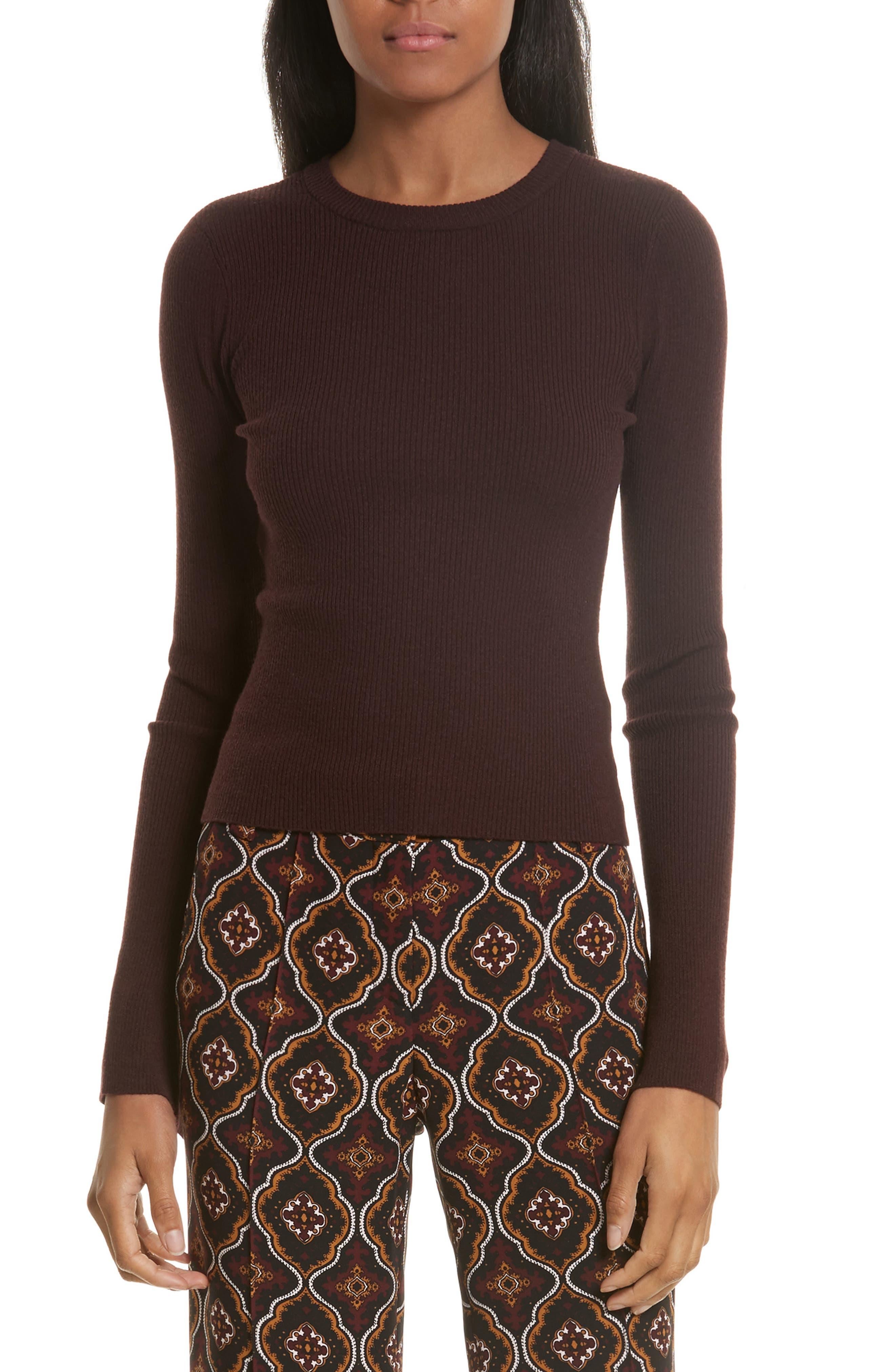 Alternate Image 1 Selected - A.L.C. Lewis Merino Wool Blend Sweater