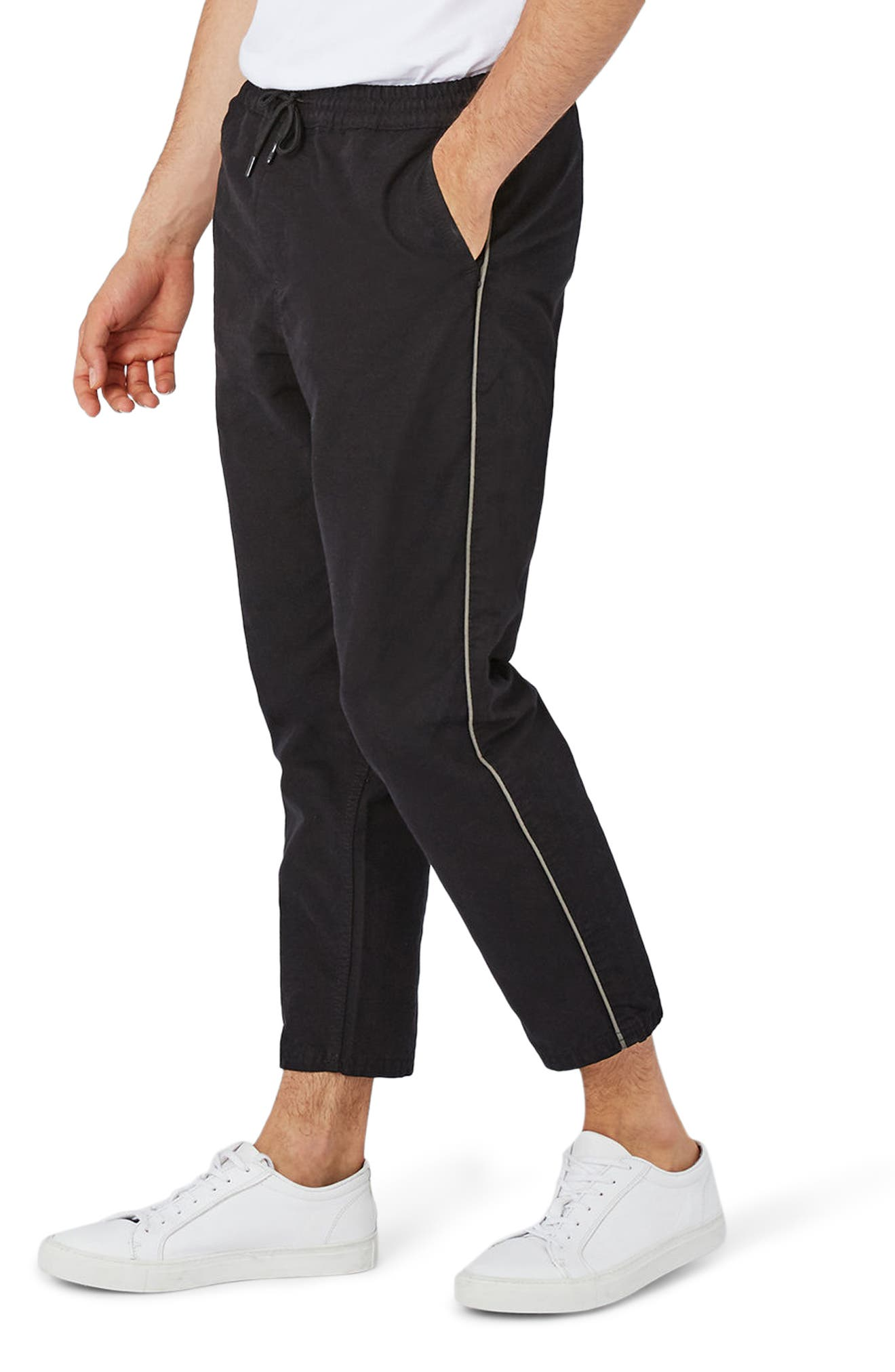 Alternate Image 1 Selected - Topman Canvas Joggers