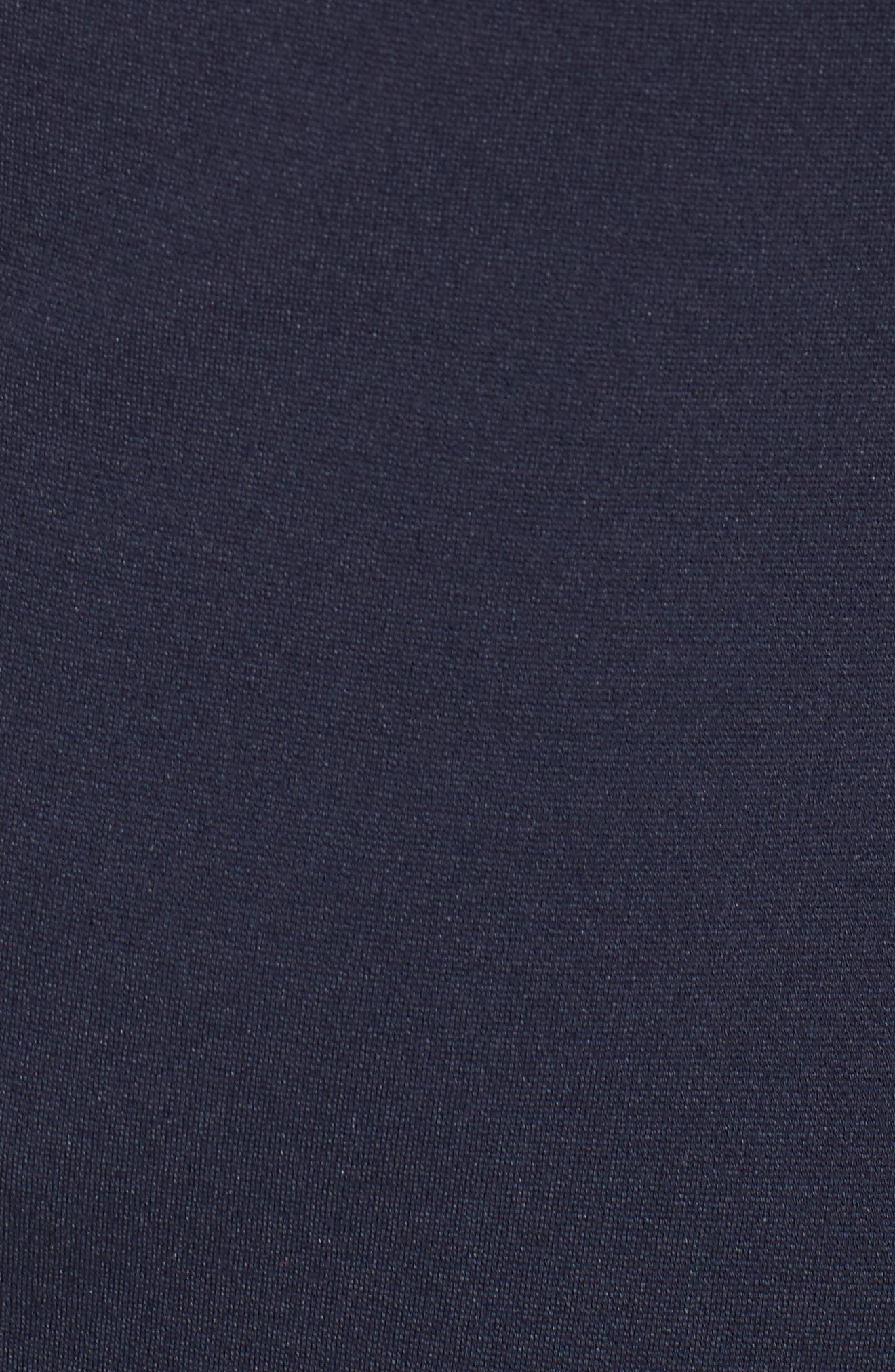 Ruffle Sleeve Sheath Dress,                             Alternate thumbnail 6, color,                             Navy