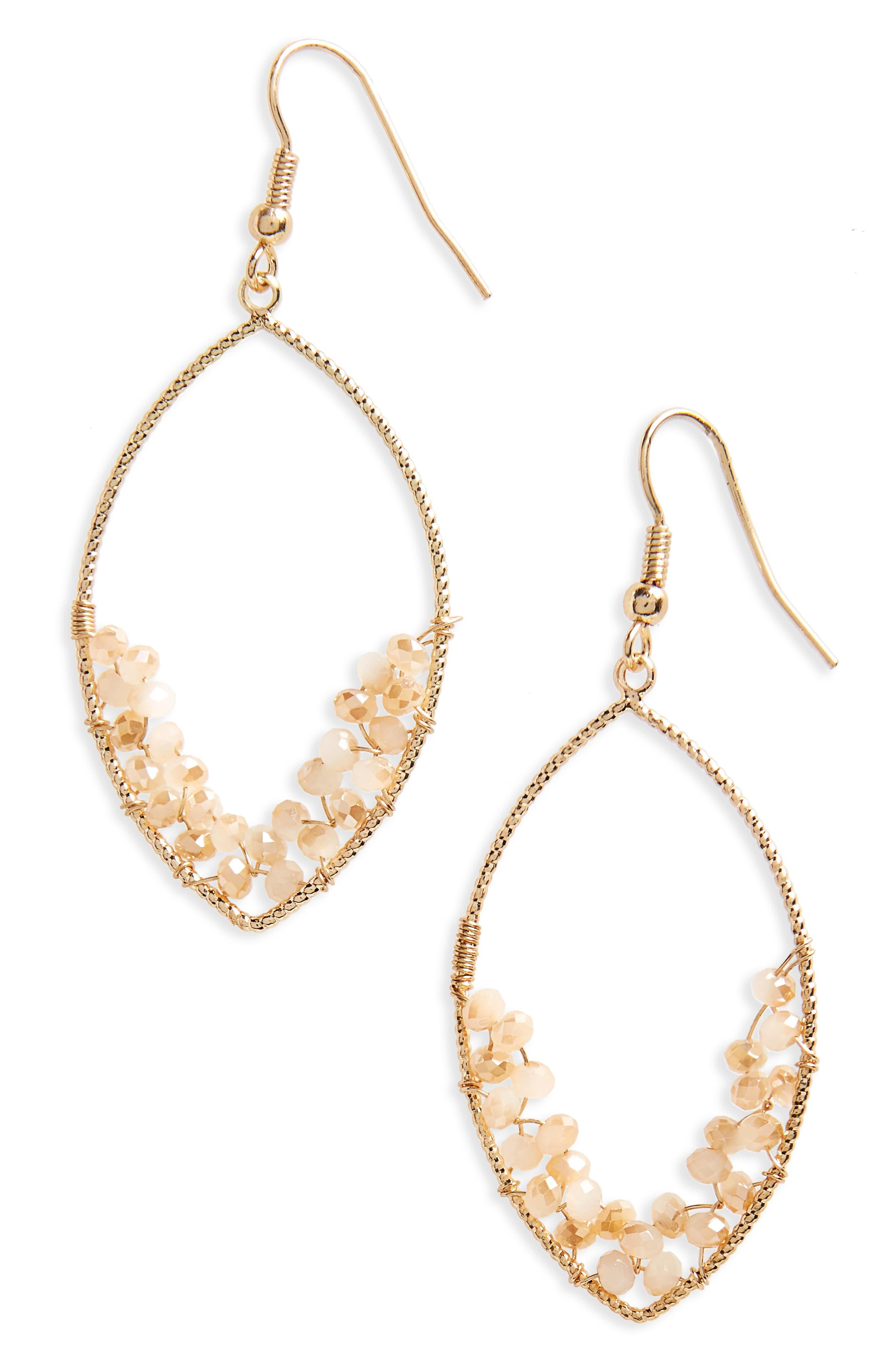PANACEA Marquis Earrings