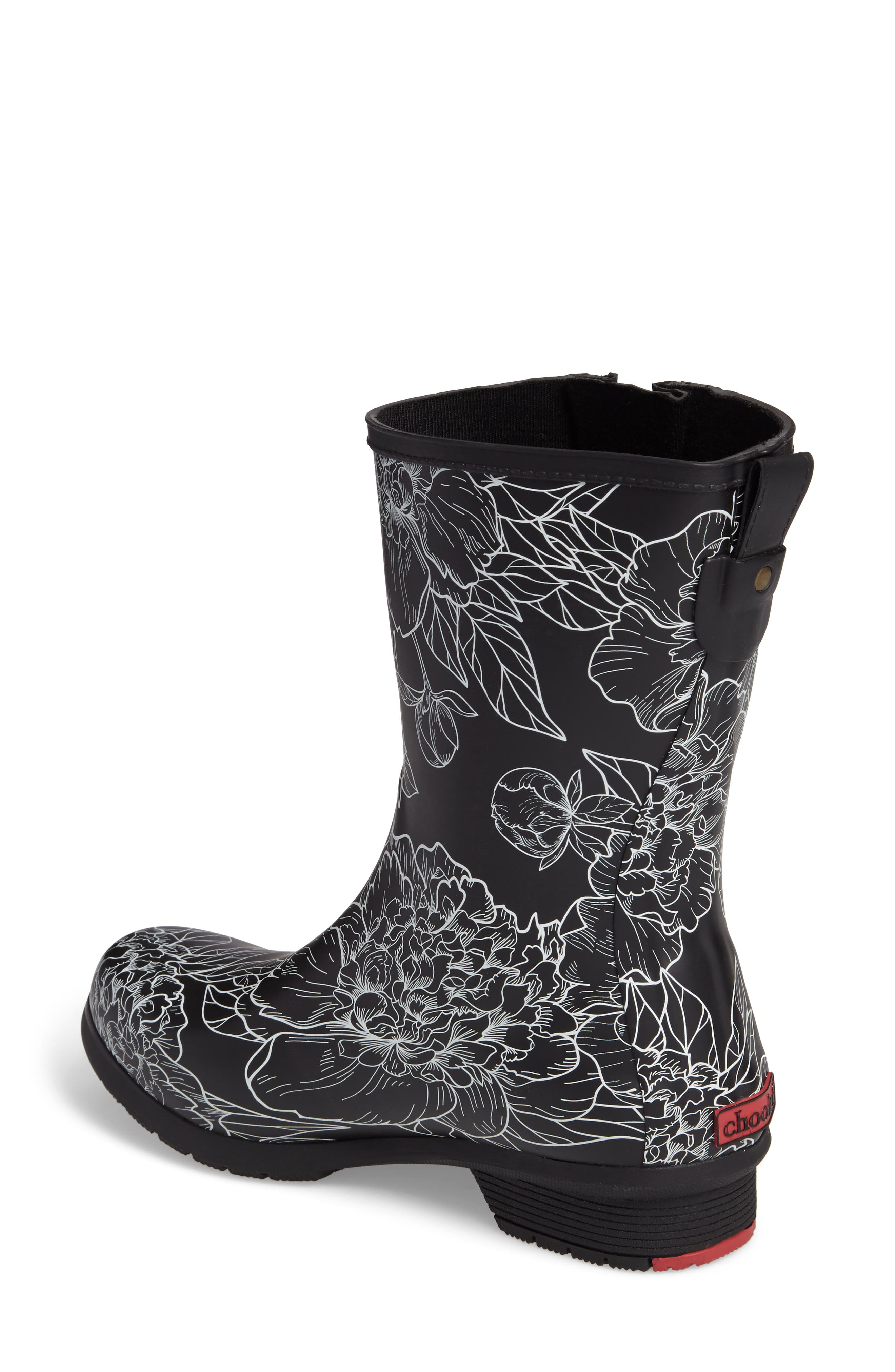 Alternate Image 2  - Chooka Cora Mid Rain Boot (Women)
