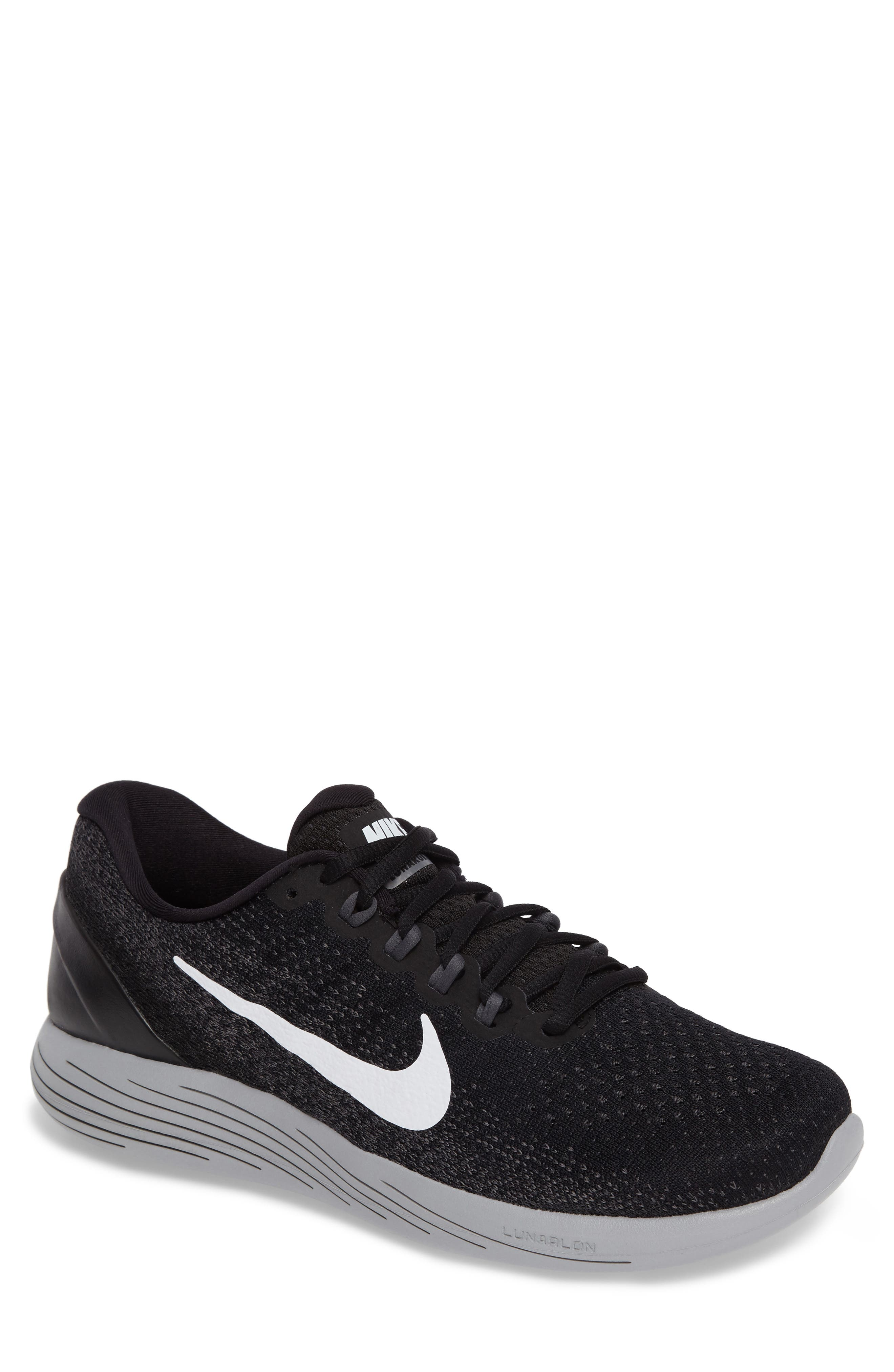 Alternate Image 1 Selected - Nike LunarGlide 9 Running Shoe (Men)