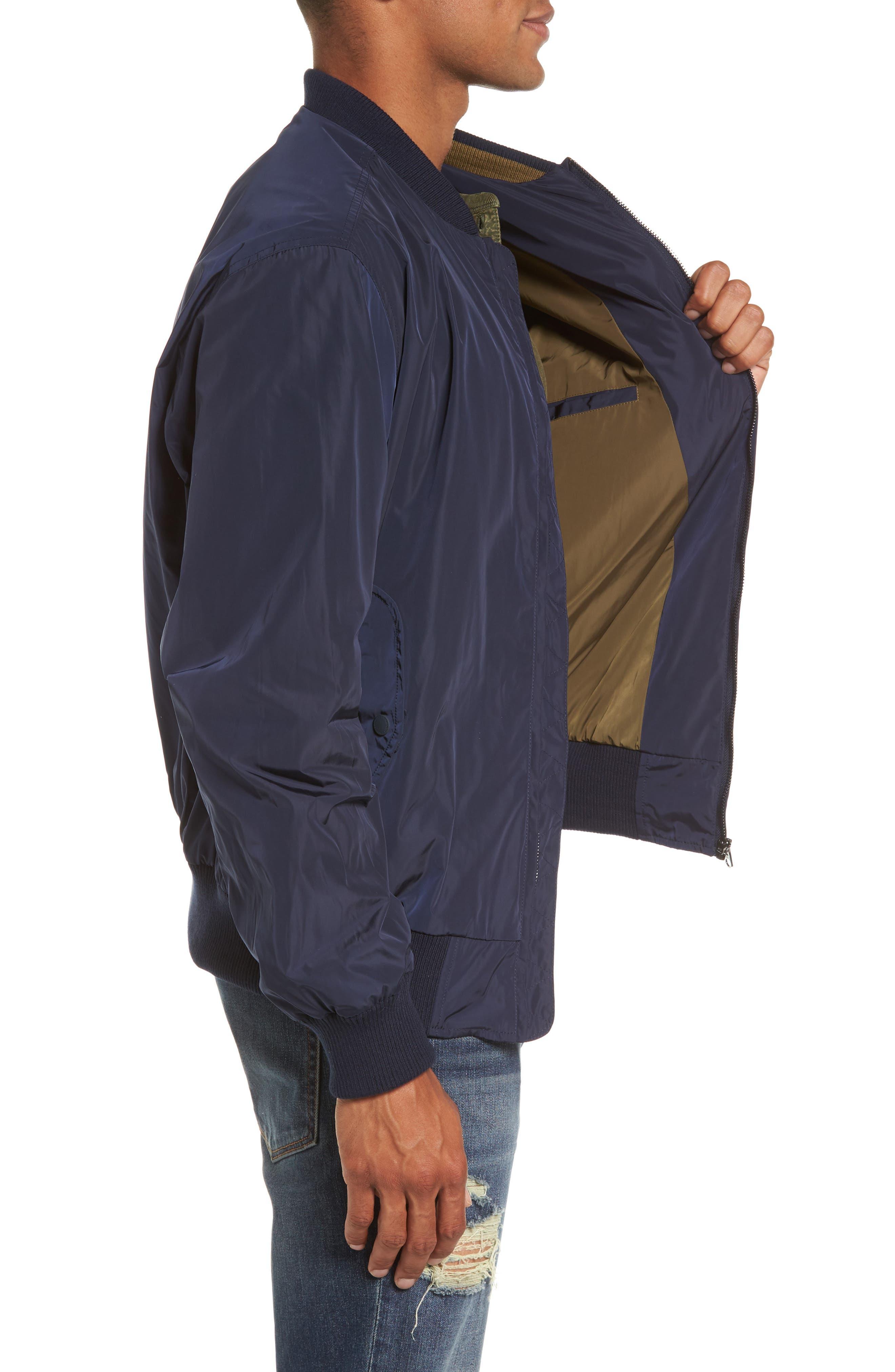 Alternate Image 3  - French Connection Boulevard Regular Fit Light Bomber Jacket